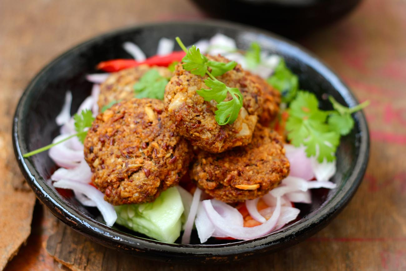 Red Beans And Oats Cutlet Recipe