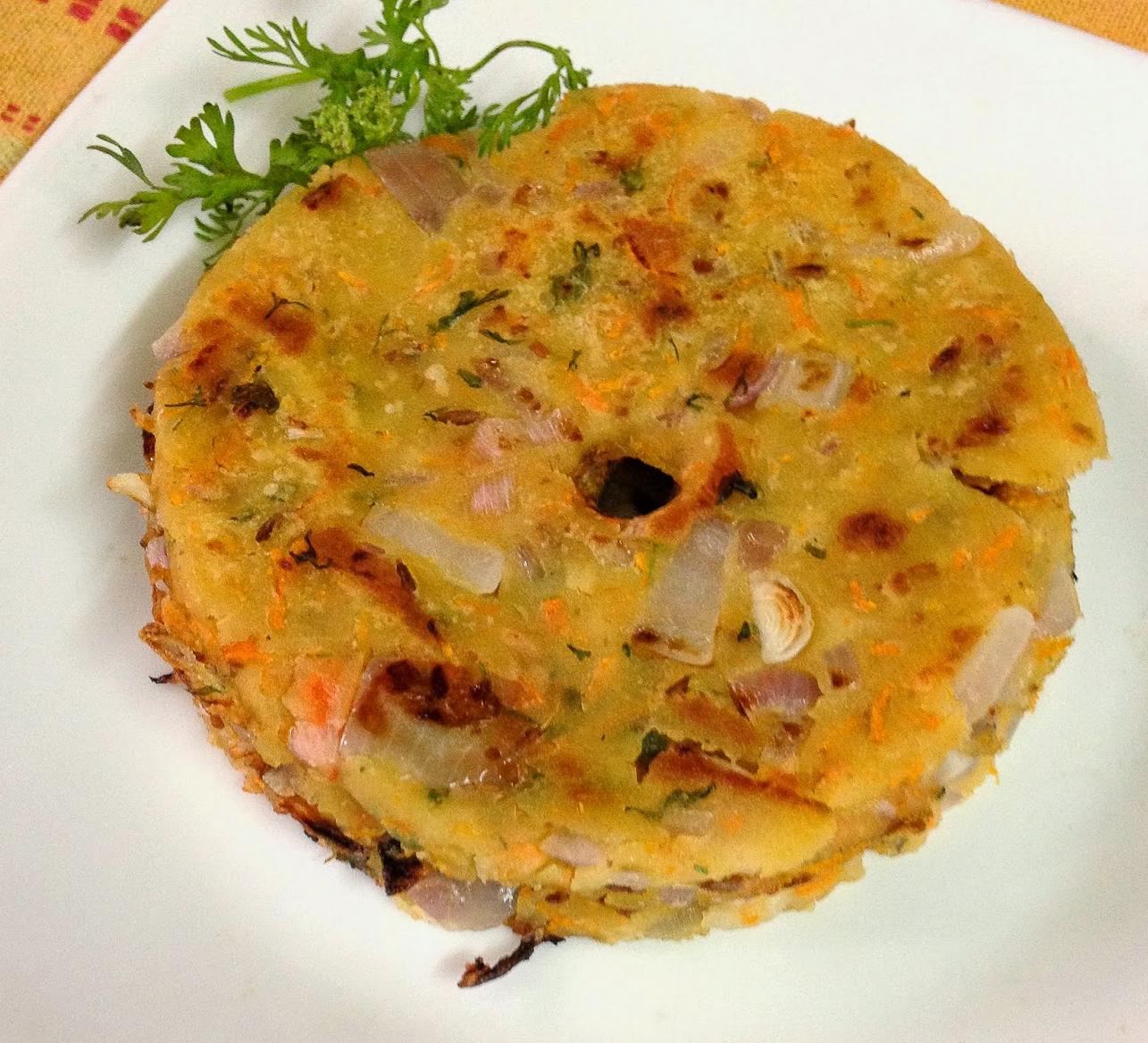 Masala Akki Roti Recipe – Spicy Rice Flour Flatbread