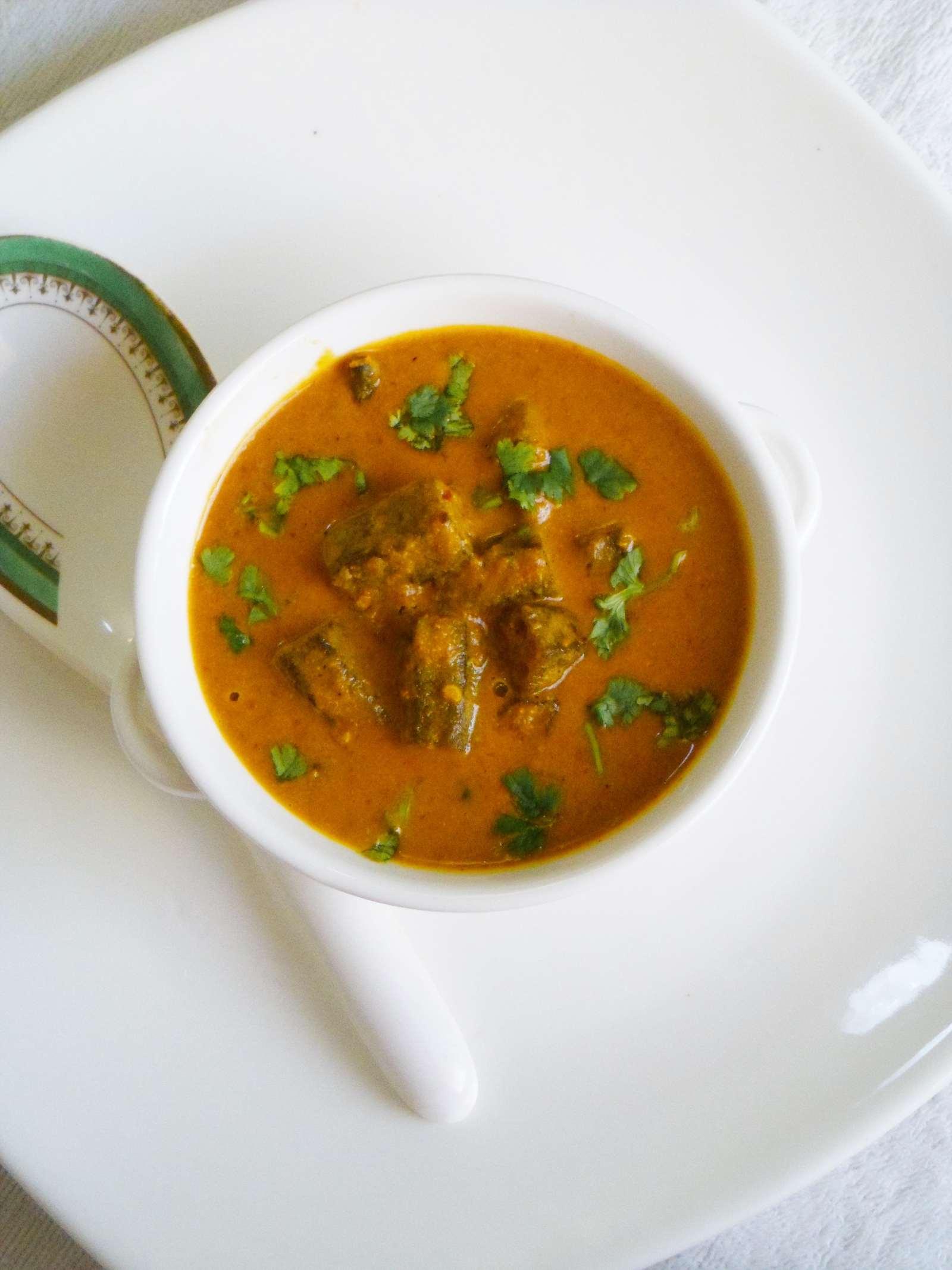 Mughlai Bhindi Recipe – Spicy Okra Curry