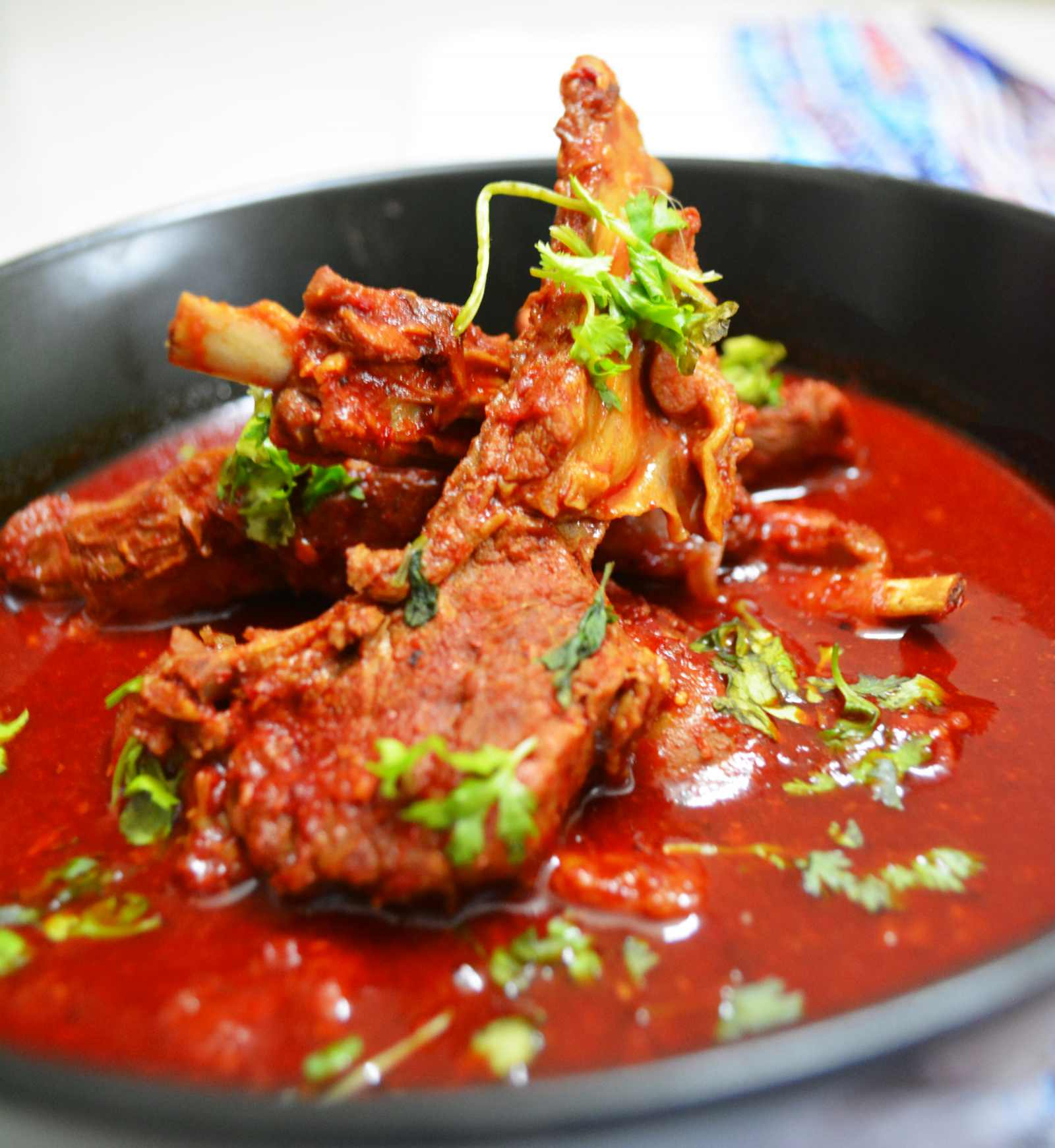 Rajasthani laal maas recipe mutton in red spicy gravy by archanas rajasthani laal maas recipe mutton in red spicy gravy by archanas kitchen forumfinder Images