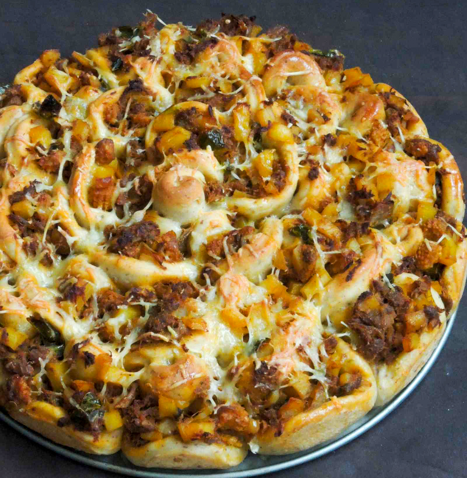 Cheesy spicy pull apart bread recipe with indian spices by cheesy spicy pull apart bread recipe with indian spices by archanas kitchen forumfinder Choice Image