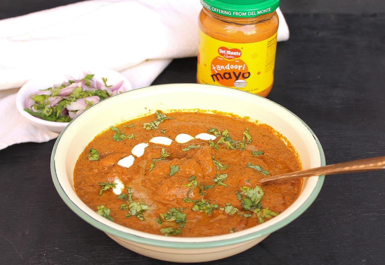 Butter Chicken With Tandoori Mayo Recipe