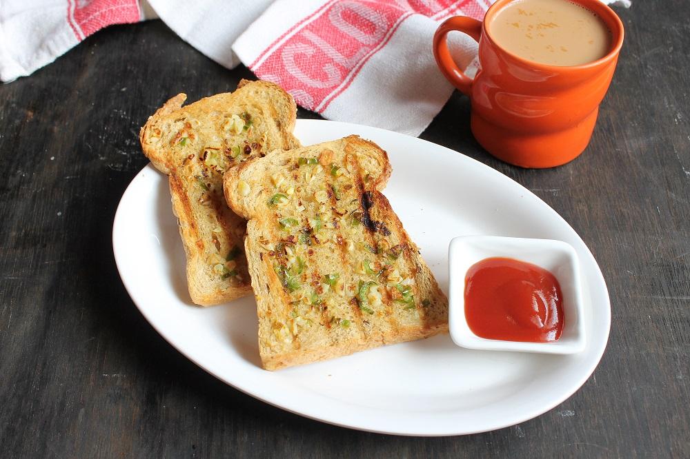 Chilli Garlic Toast Recipe