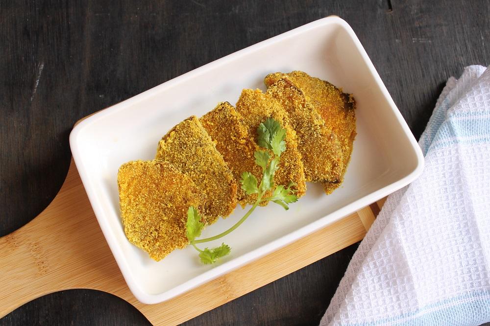 Suran Fodi Recipe – Goan Semolina Crusted Yam