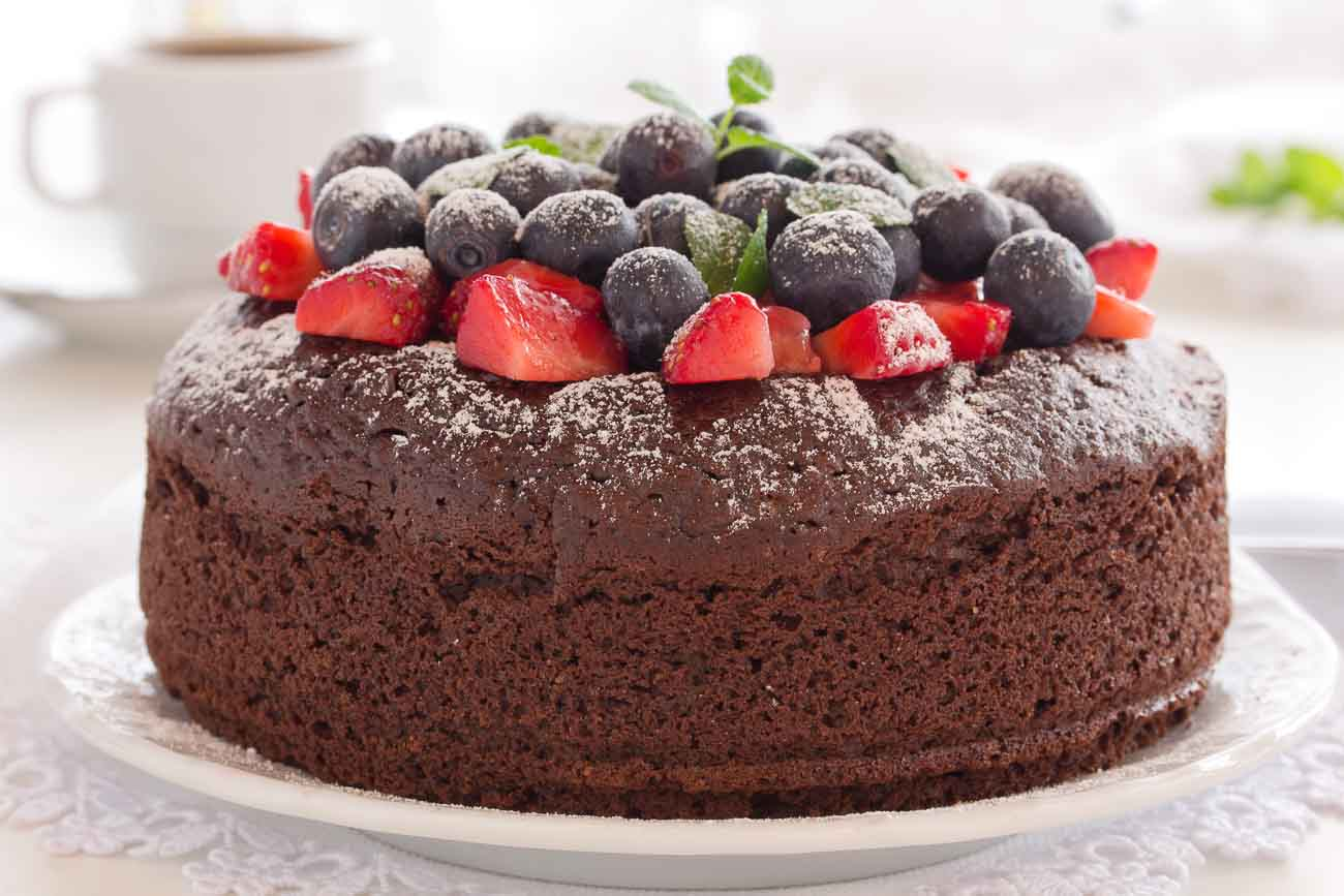 Eggless Easy Chocolate Cake Recipe Vegan Option
