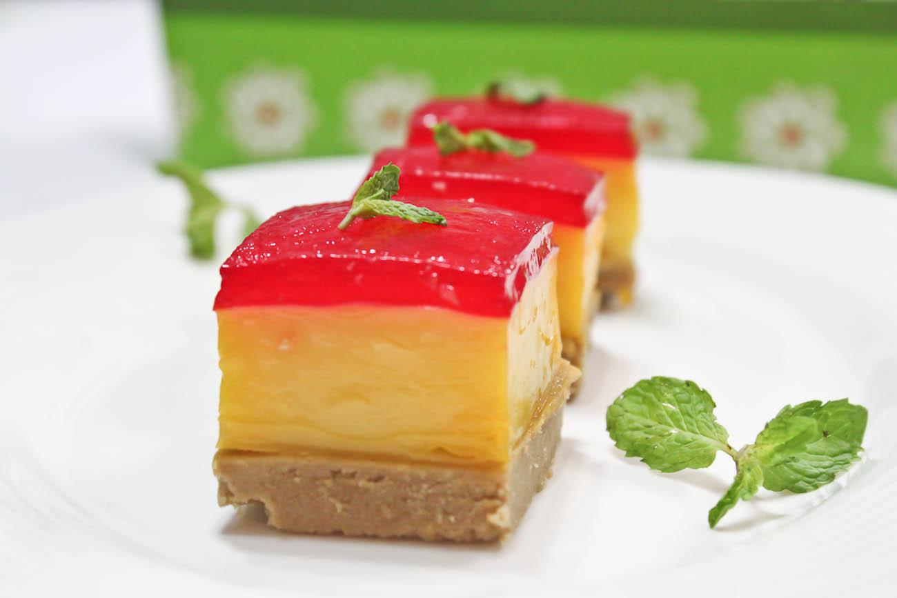 Custard Jelly Tart Recipe