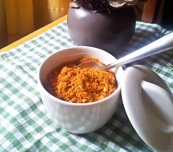 Peanut Chutney Powder Recipe