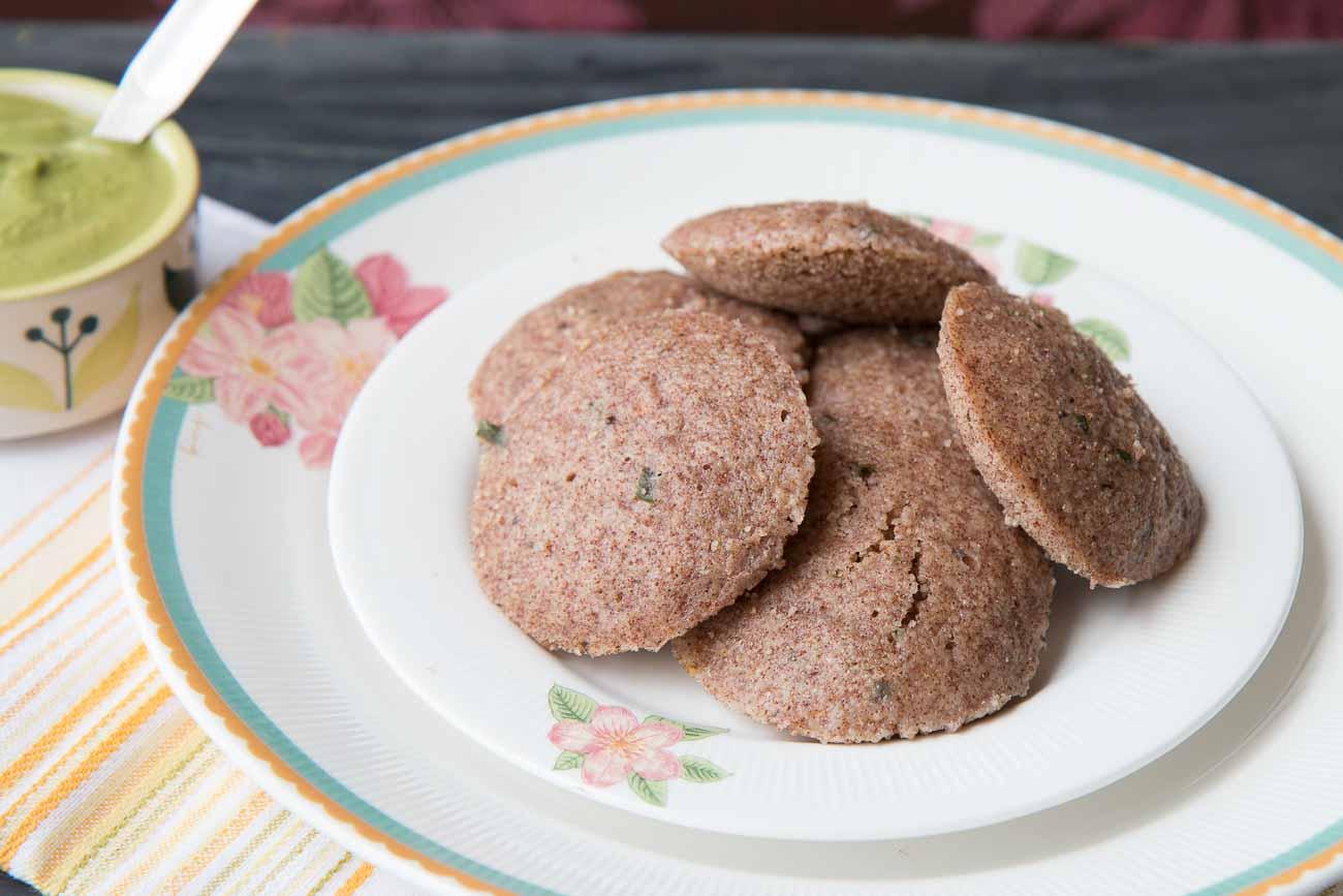 Ragi & Oats Rava Idli Recipe-Finger Millet and Oats Idli