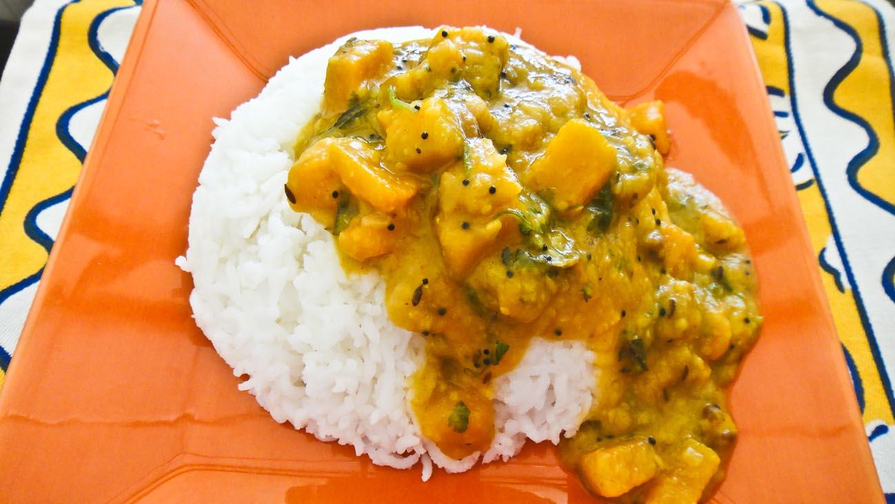 Yellow Pumpkin Dal Recipe