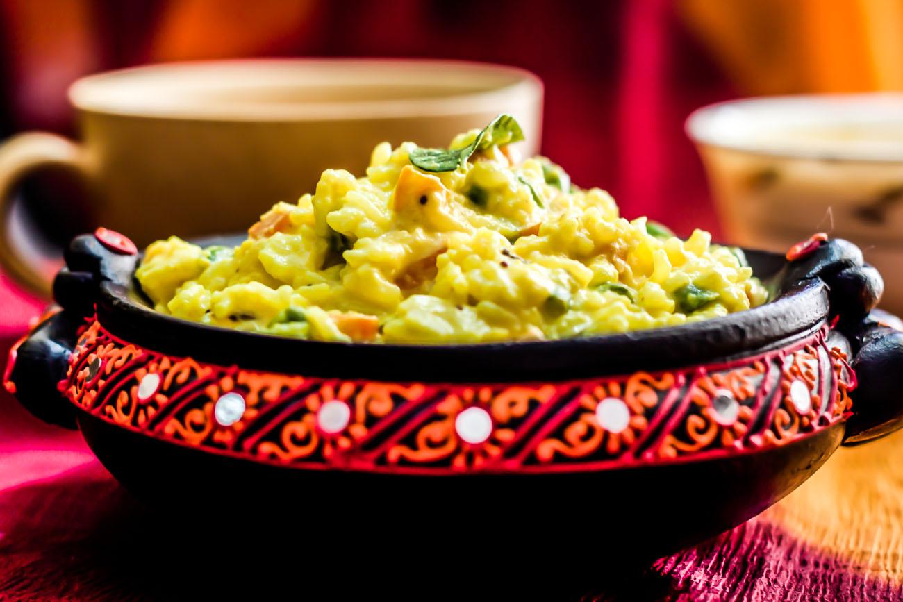 Vagharelo Bhaat Recipe – Gujarati Masala Rice