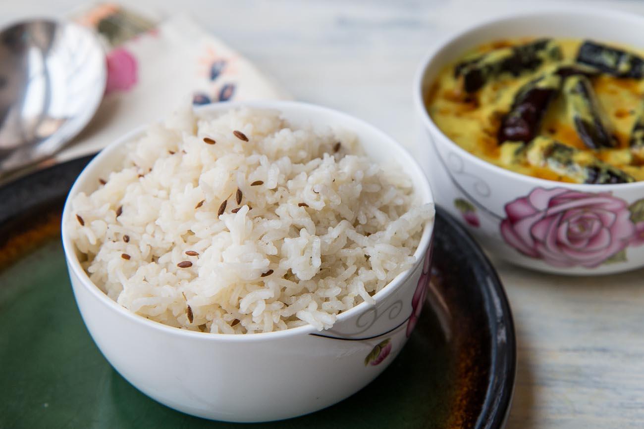 Jeera Rice Recipe – Cumin And Ghee Flavored Rice