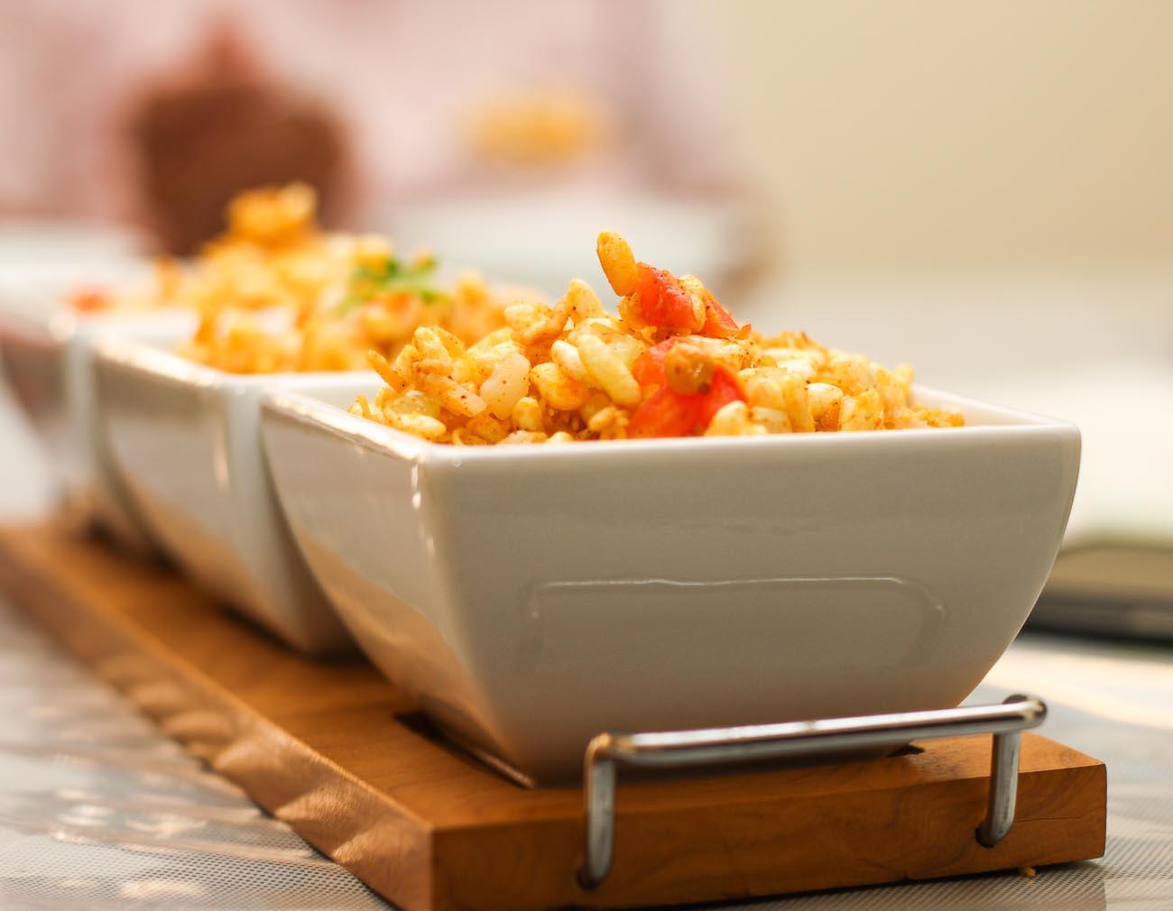 Jhaal Muri/Moodi Recipe -Spicy Puffed Rice