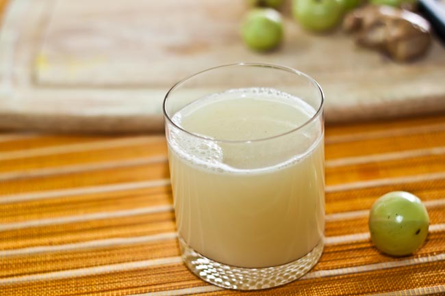 Gooseberry Ginger Detox Health Drink Recipe