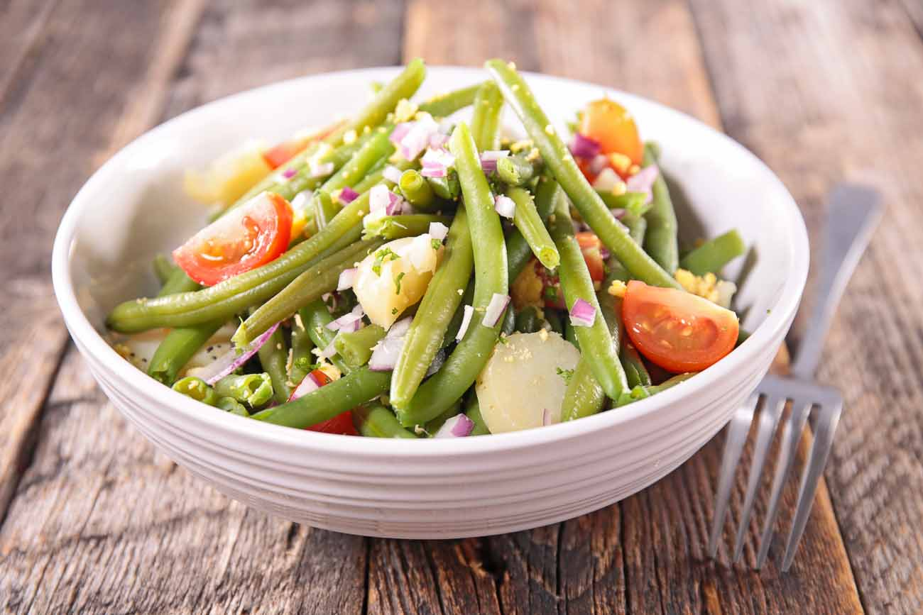 Sweet Potato & Green Bean Salad Recipe