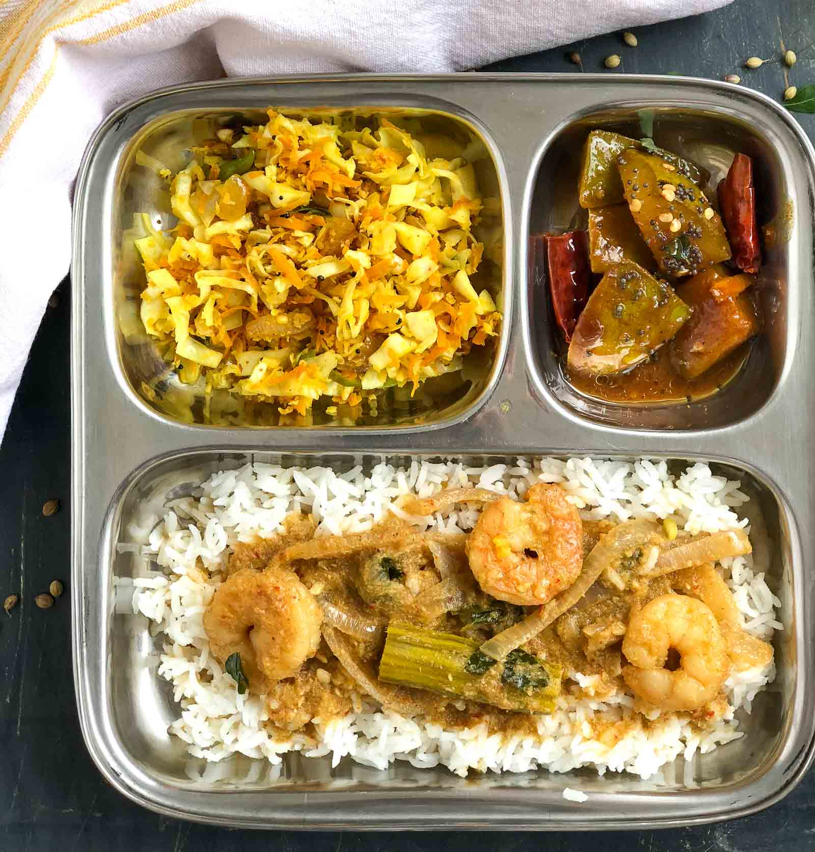 Try This Lip Smacking Prawn Drumstick Curry & Poriyal For Dinner Tonight