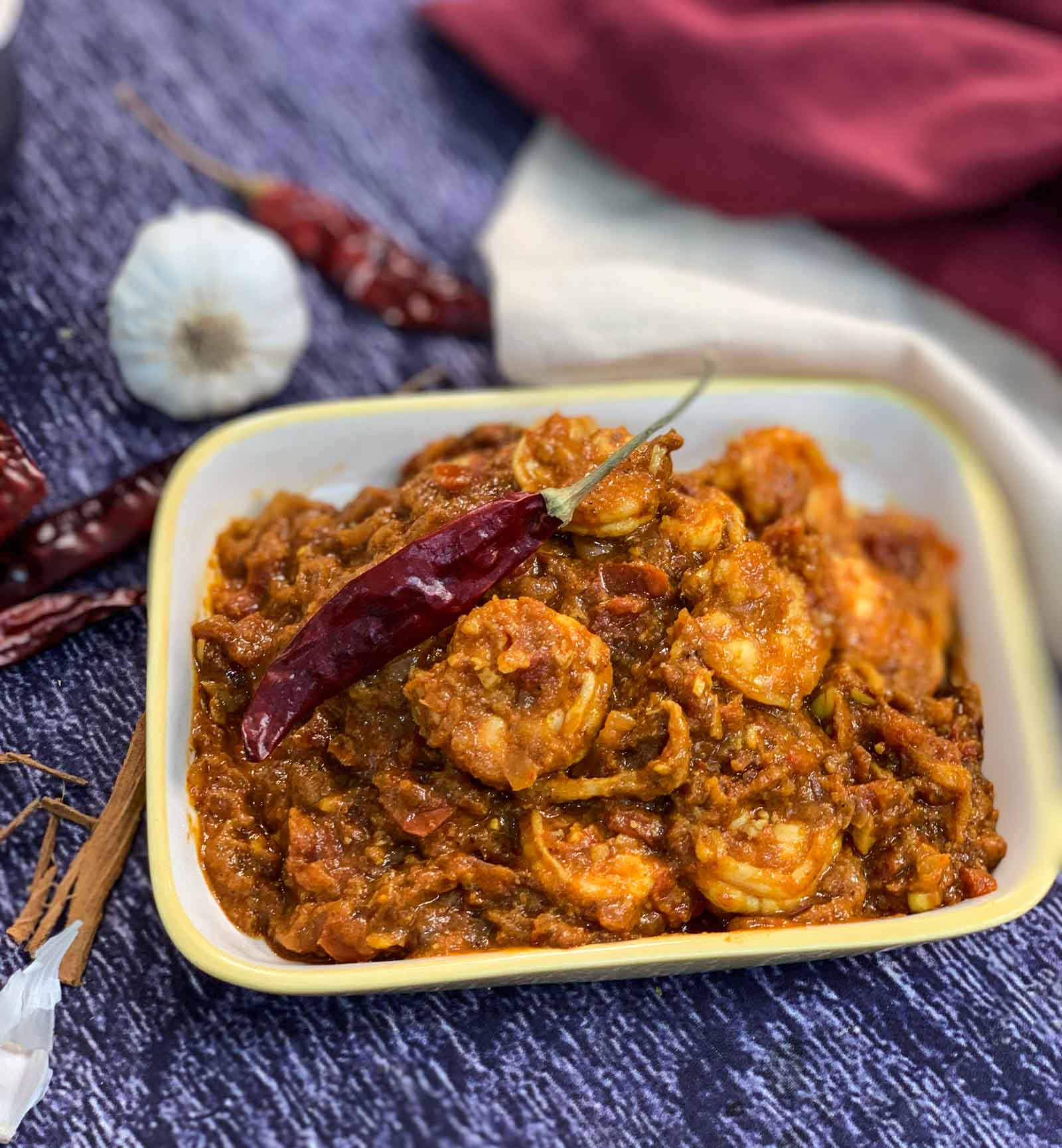 Goan Prawns Vindaloo Recipe