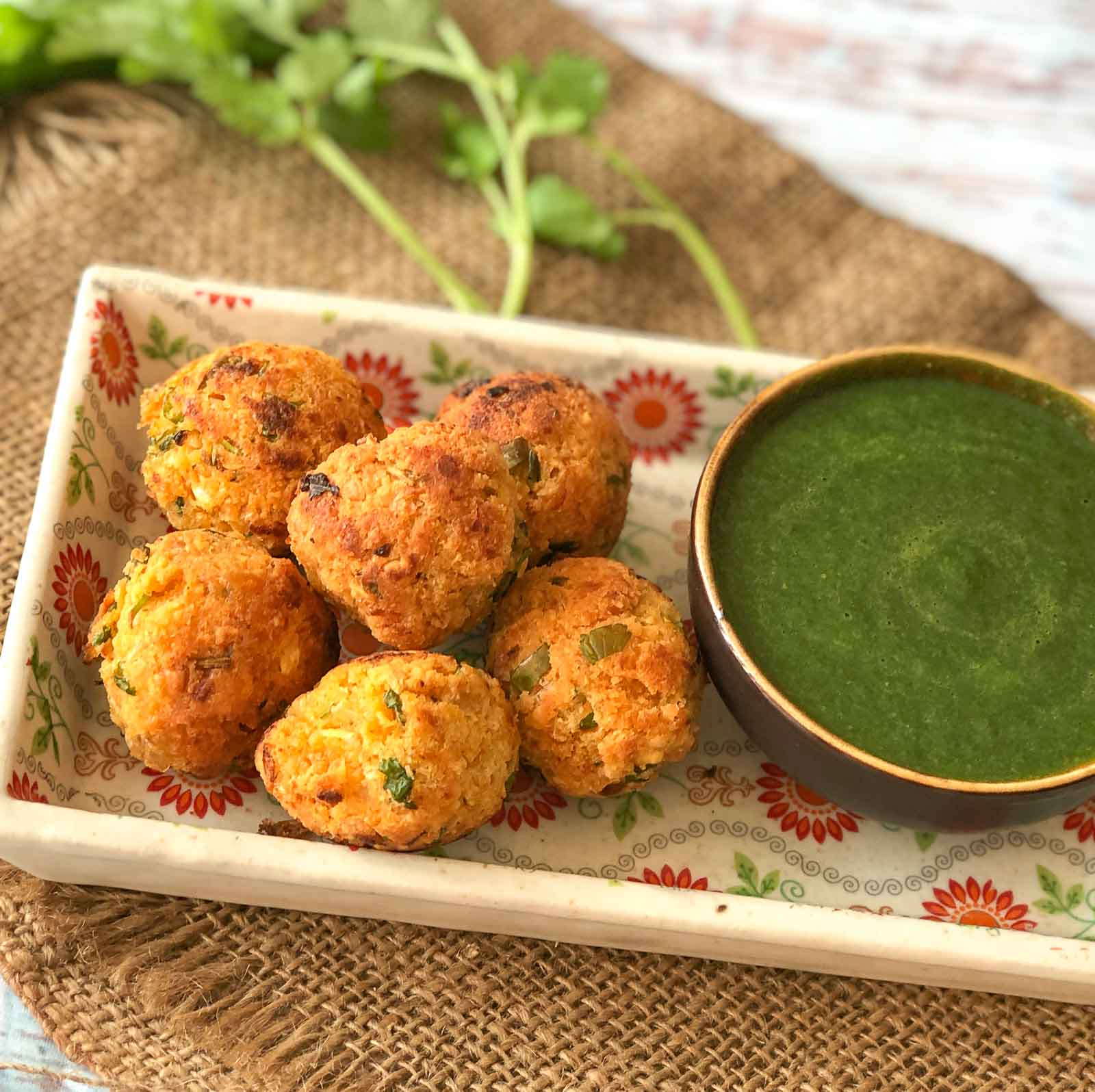 Healthy Kabuli Chana Pakora Recipe