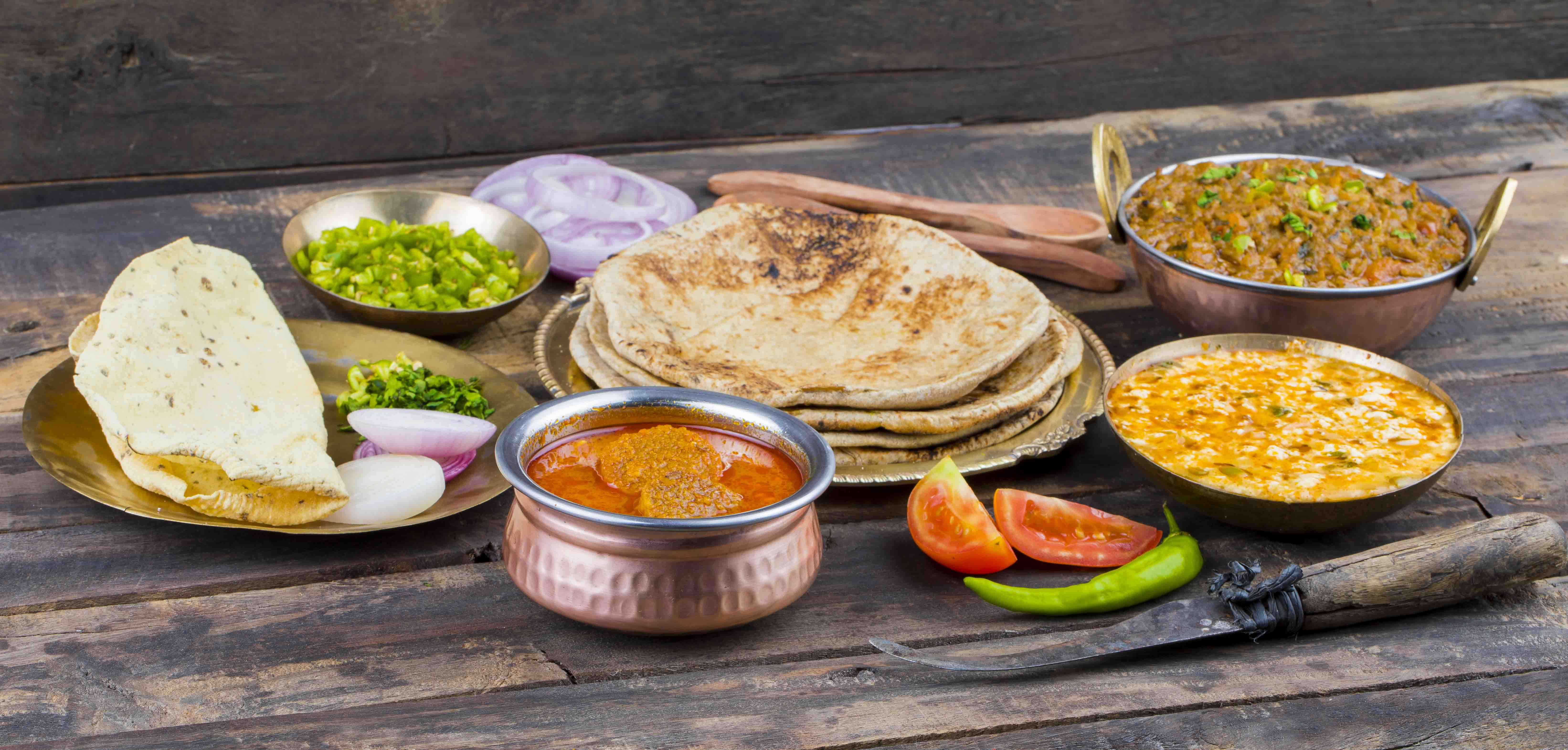 Indian Road Side Dhaba Food Recipes 1