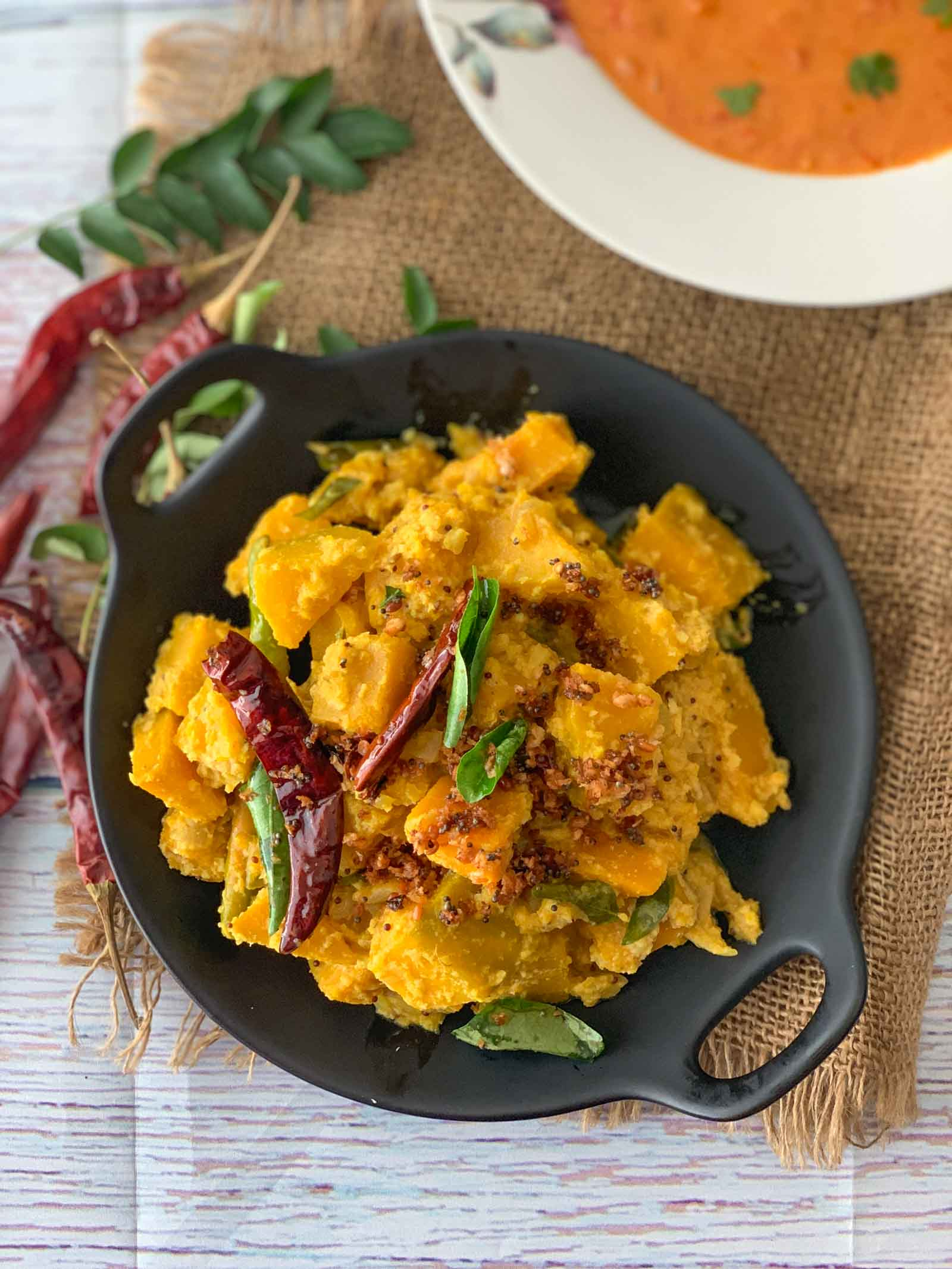 Pumpkin Erissery Recipe Kerala Pumpkin Coconut Curry By