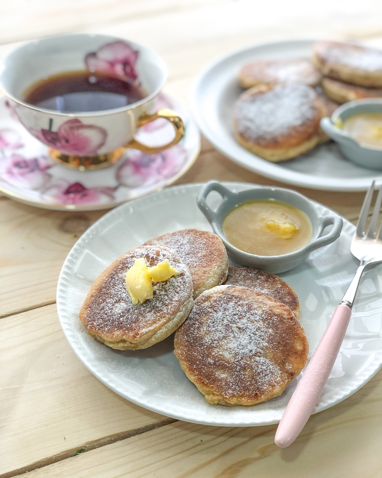 Cinnamon Welsh Cake Recipe