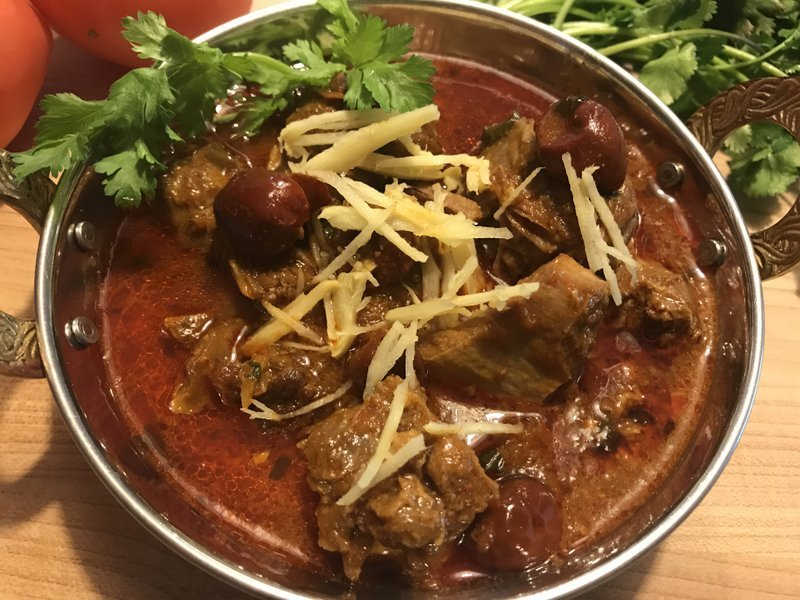 Lugai Gosht Recipe - Mutton In Spicy Tomato Onion Gravy