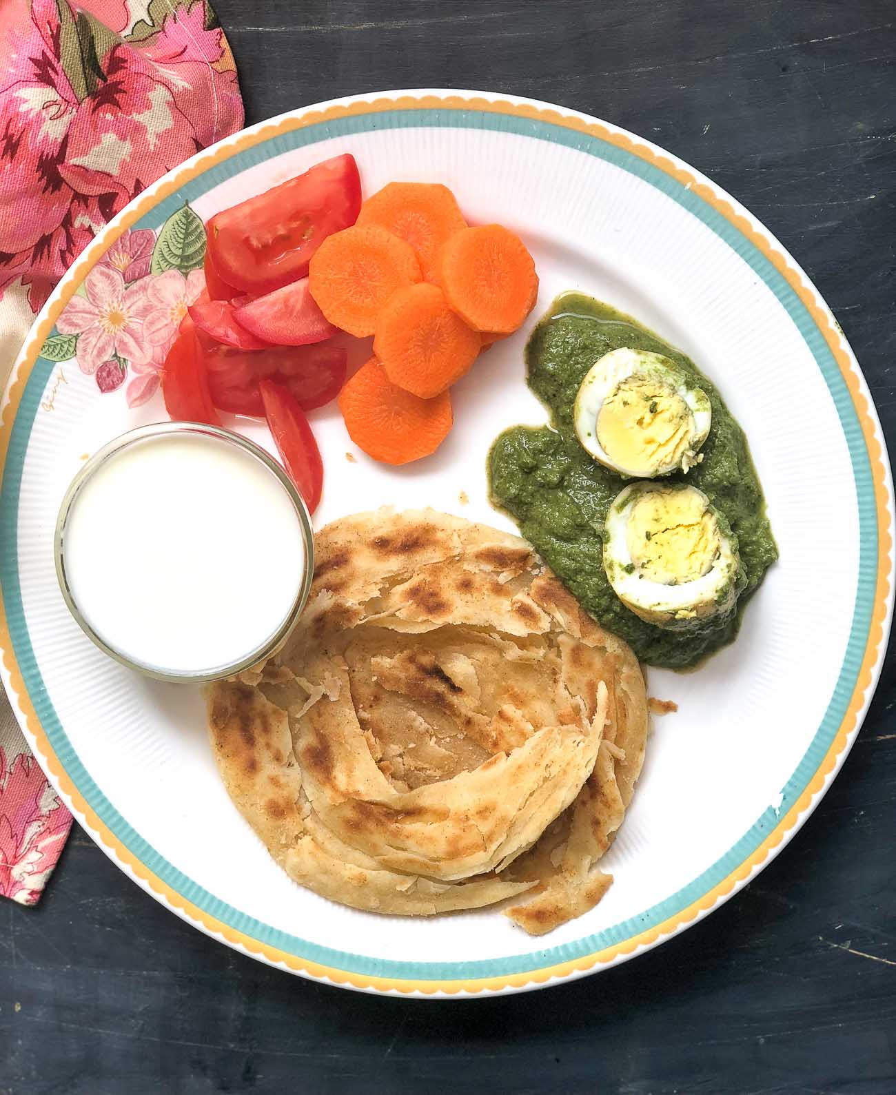 Everyday meal ideas by archanas kitchen try this hariyali egg curry malabar parotta for dinner forumfinder Gallery