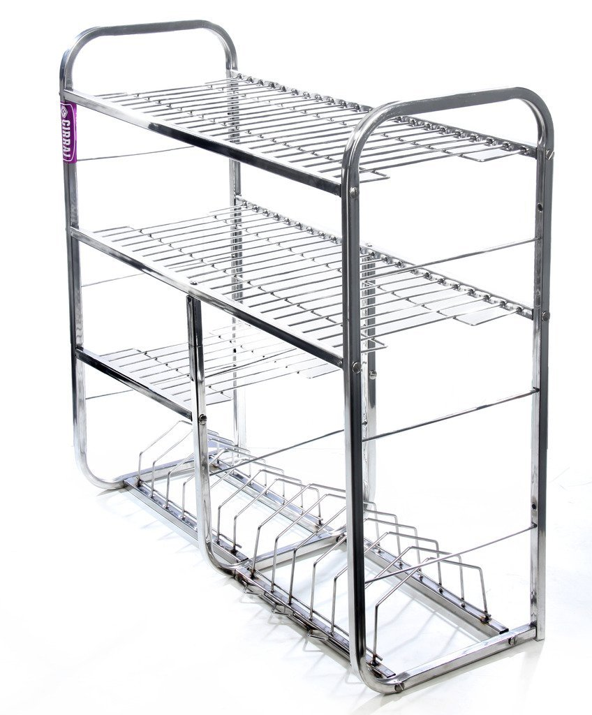 10 Must Have Racks Holders For Small Indian Kitchen By