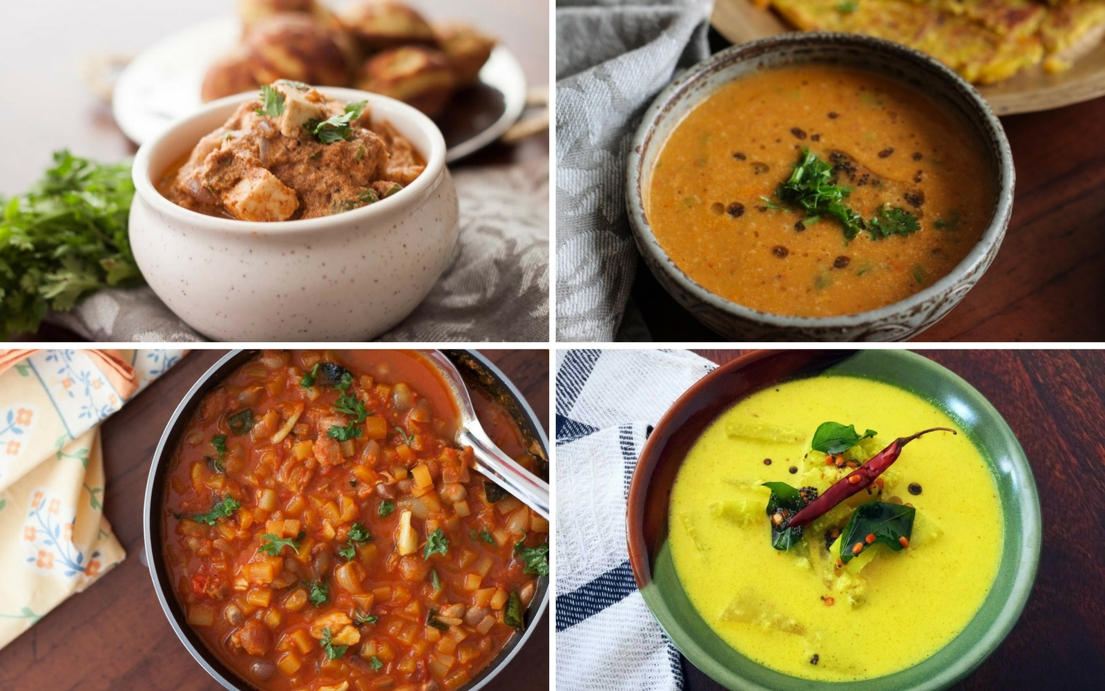12 south indian vegetarian curry recipes that you will absolutely 12 south indian vegetarian curry recipes that you will absolutely love forumfinder Choice Image