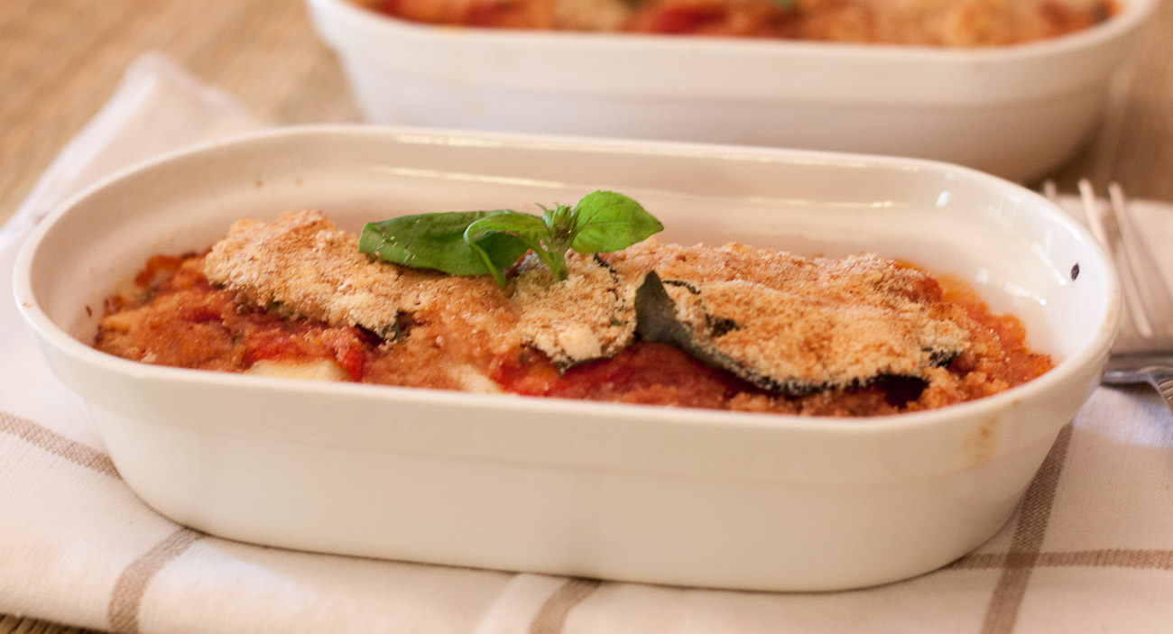 Roasted Eggplant Parmigiana Recipe