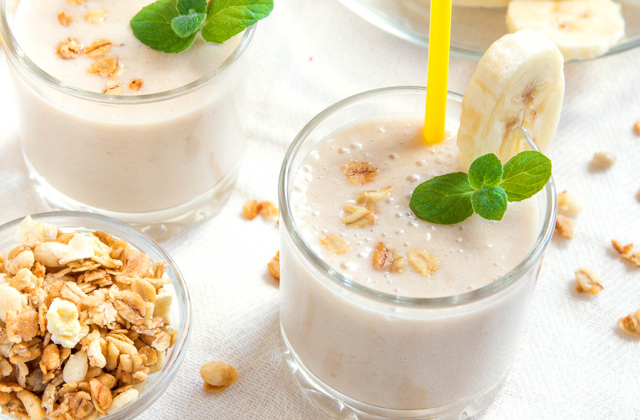 Peanut Butter Lassi Recipe - Peanut Butter Yogurt Smoothie
