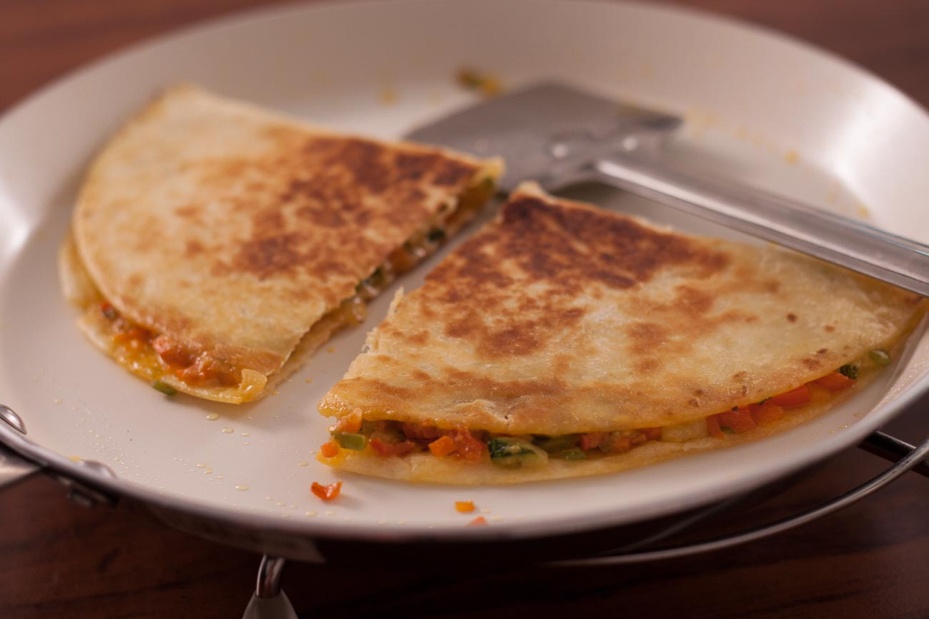 Vegetarian Mexican Quesadilla Recipe By Archana S Kitchen