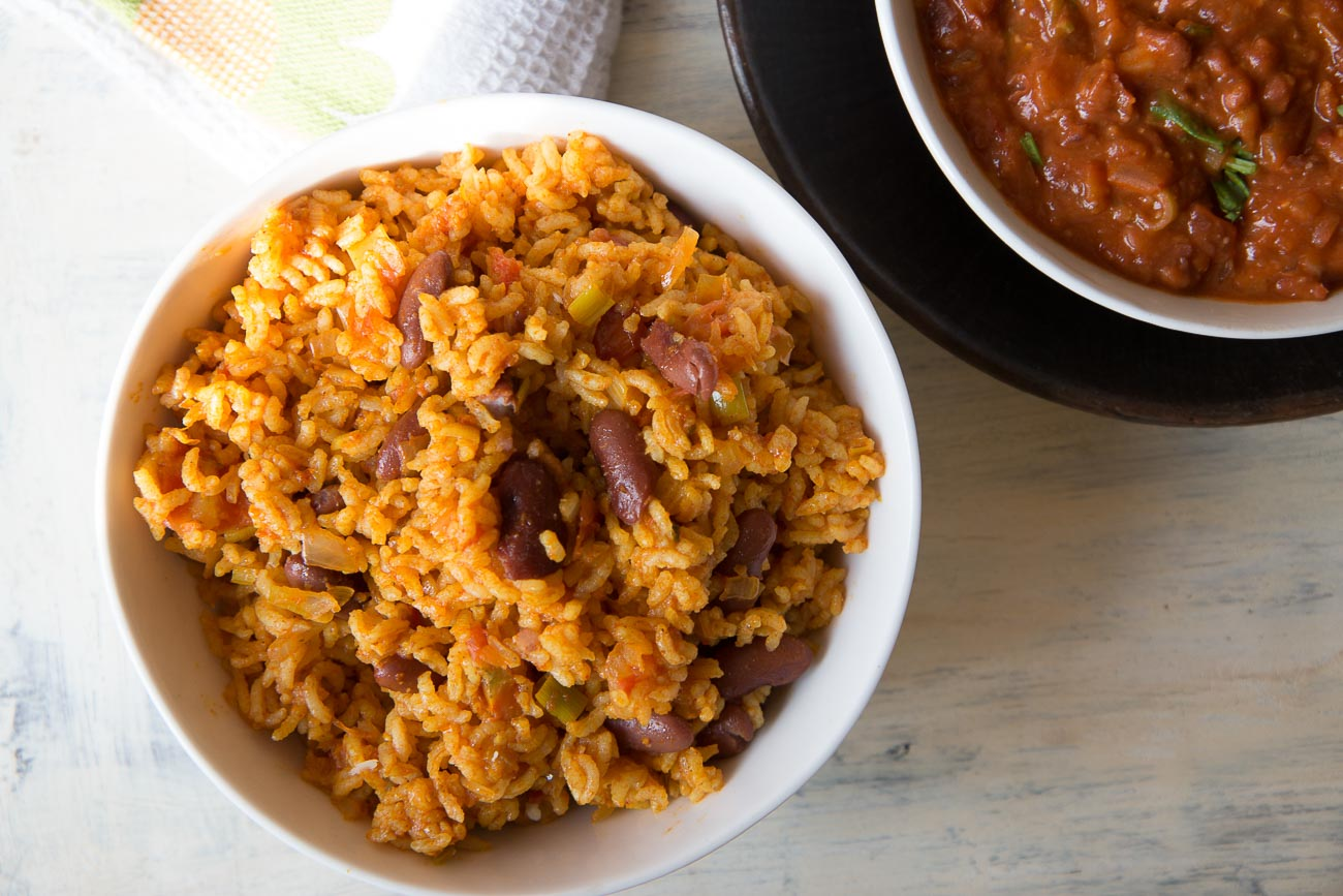 Vegetarian Smoked Mexican Bean Rice Recipe By Archana S Kitchen
