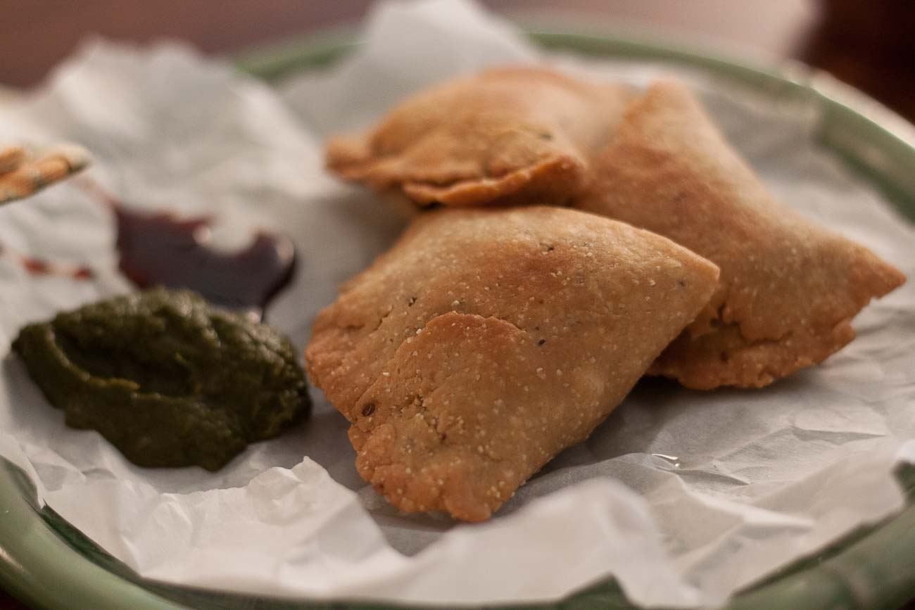Spinach And Paneer Samosa Recipe With Figaro Pure Olive Oil