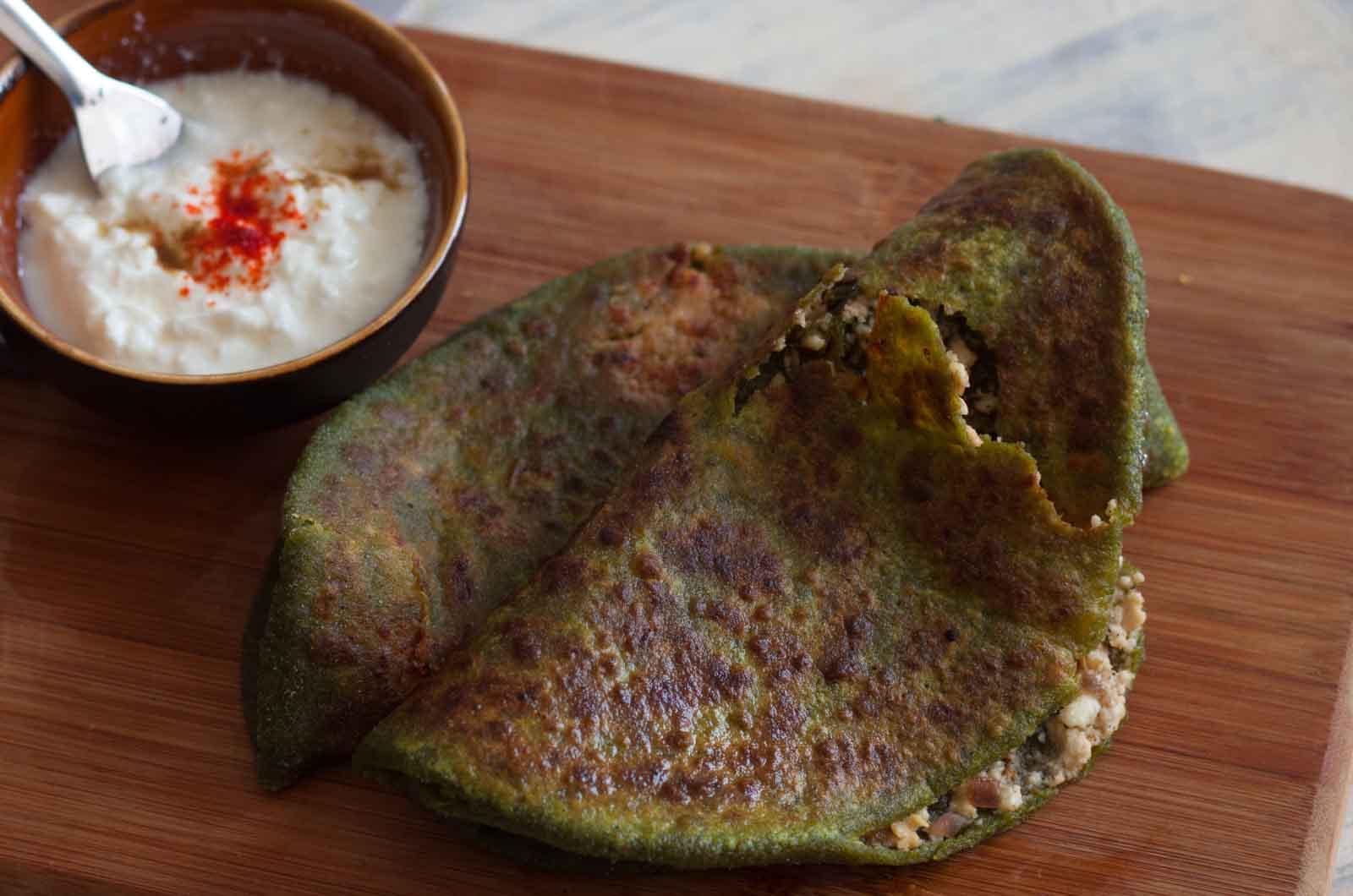 how to prepare palak paneer