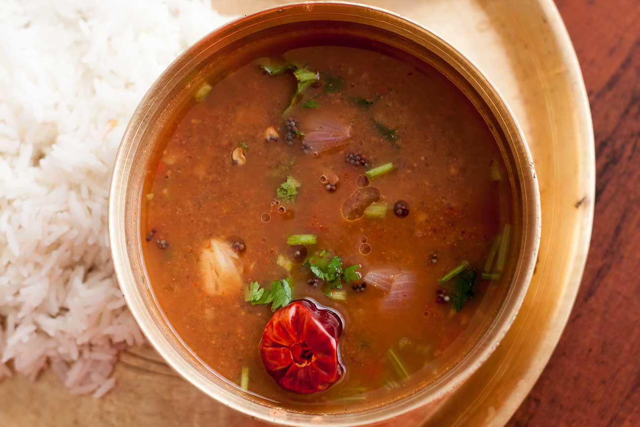 Chettinad Poondu Rasam Recipe