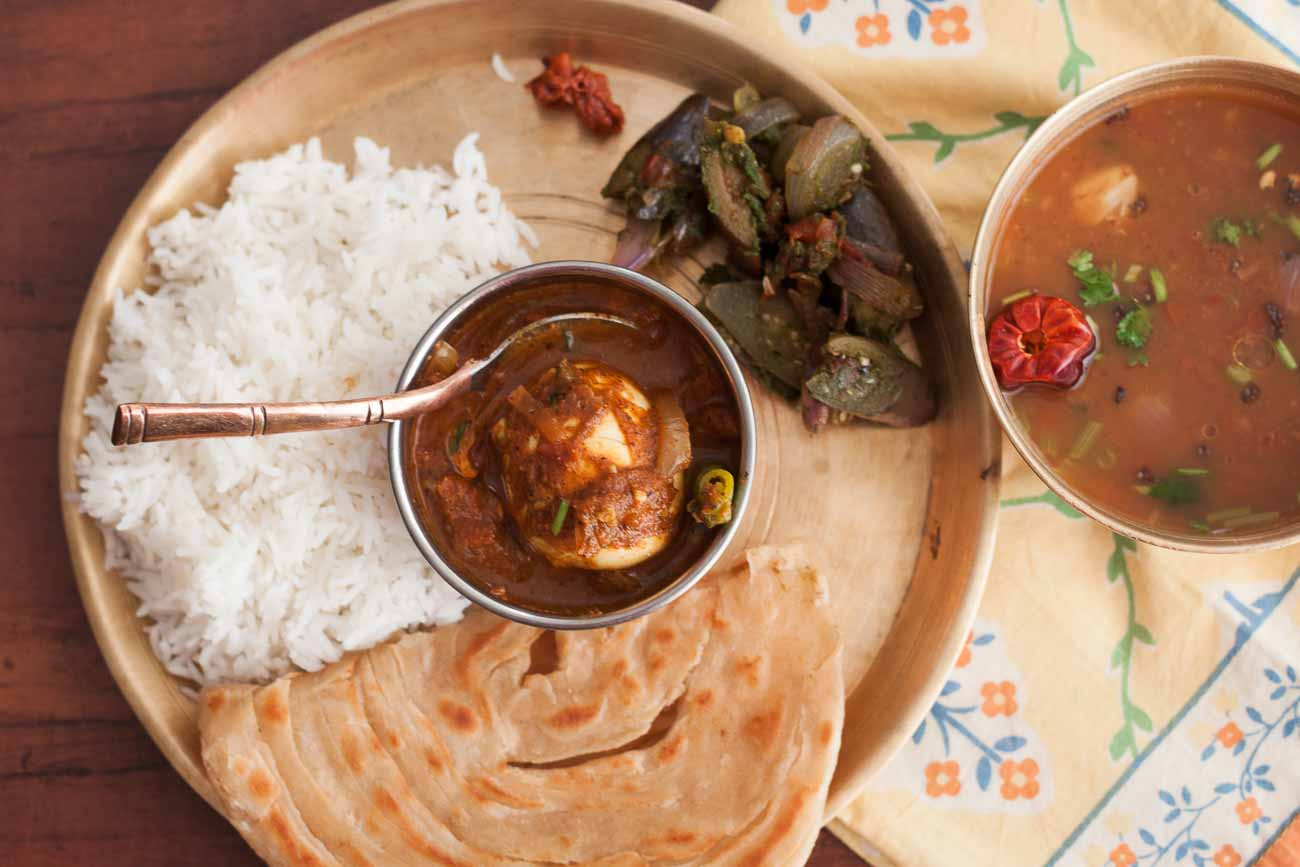 Simple indian lunch menu ideas 30 indian lunch box recipes for kids everyday meal plate chettinadu muttai masala poondu rasam vankaya forumfinder Images