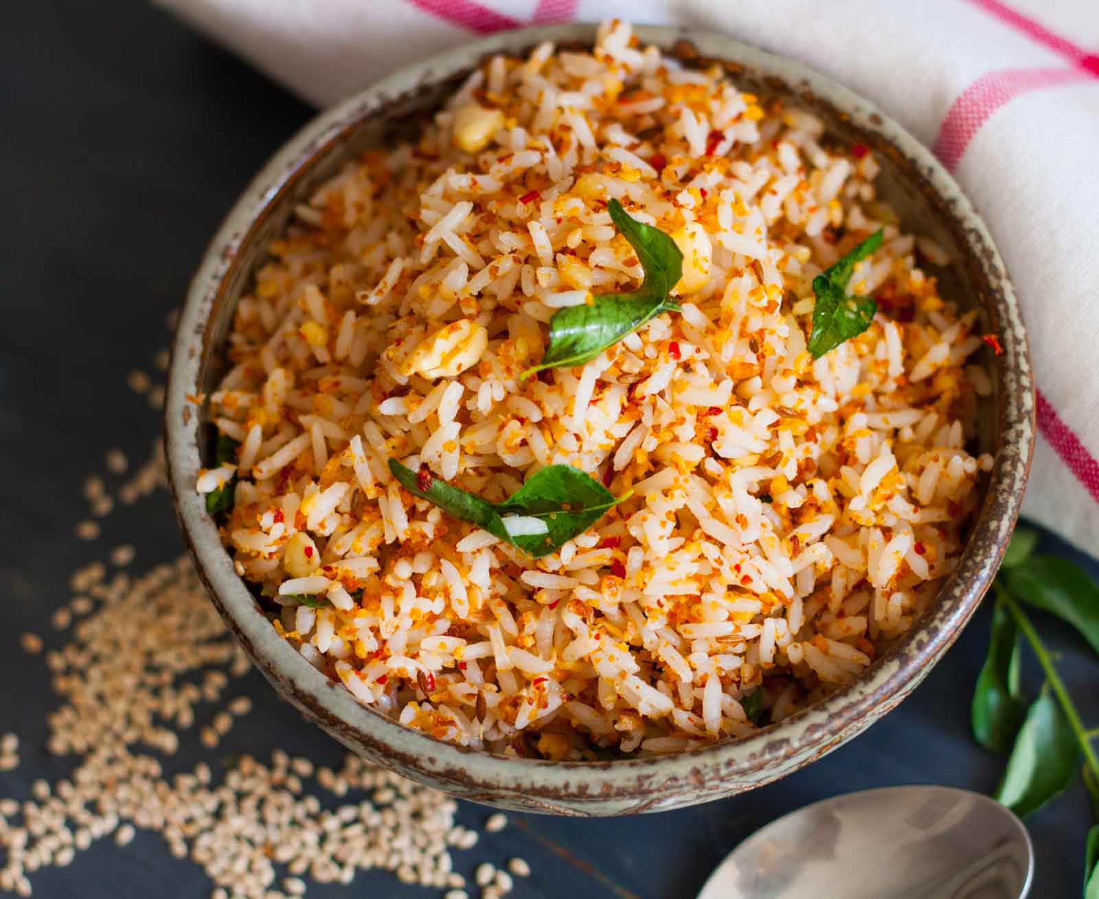 Ellu Sadam Recipe (Sesame Rice)