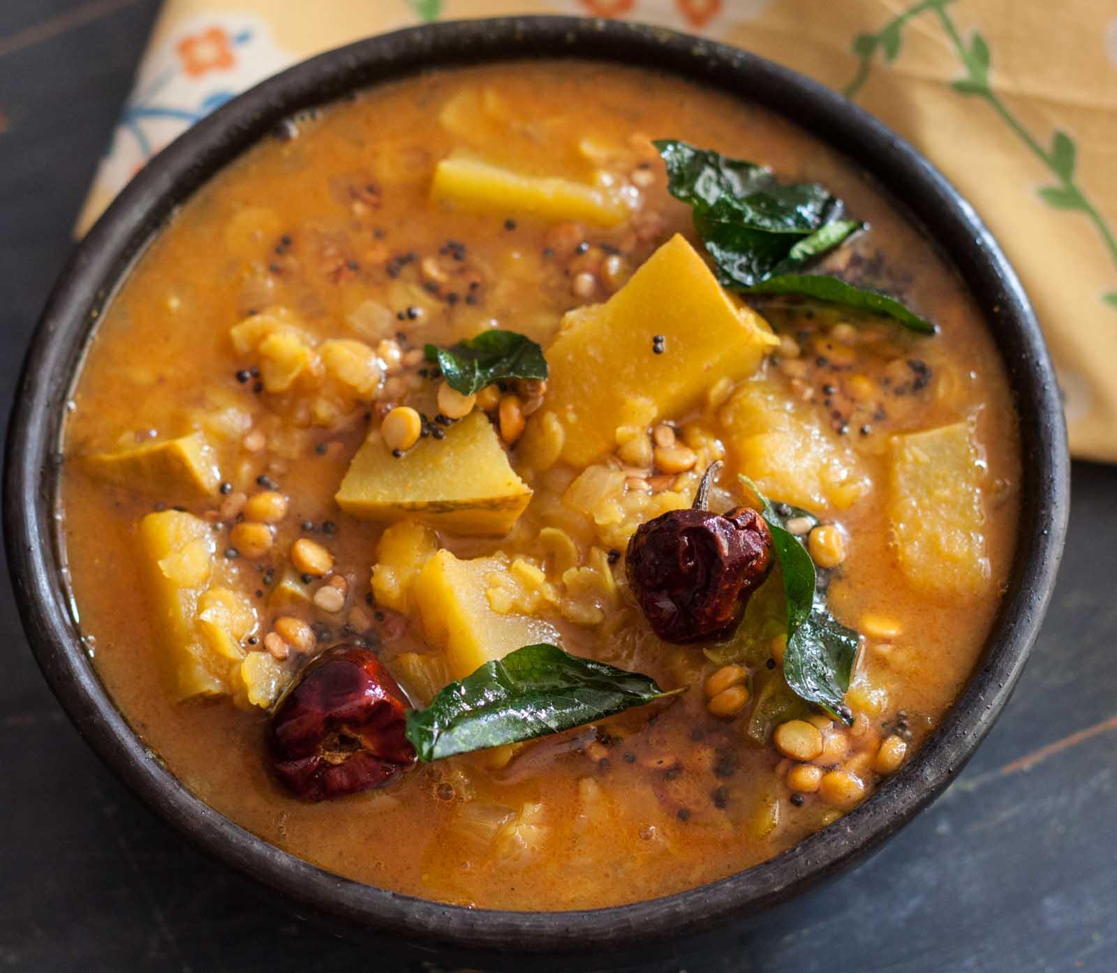 recipe: easy ndian-style pumpkin curry [5]