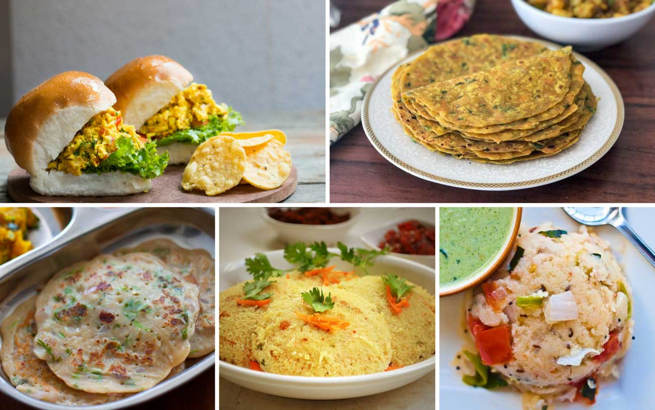 72 indian breakfast recipes you can make in 20 minutes for busy