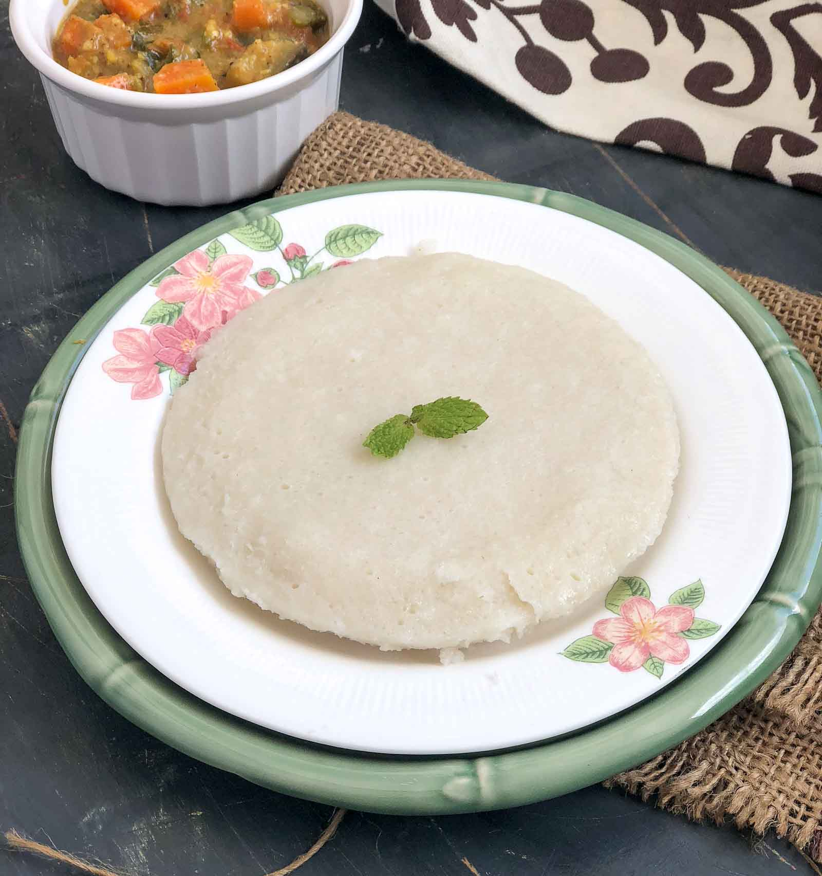 Kodava Thalia Puttu Recipe - Steamed Rice Coconut Cake