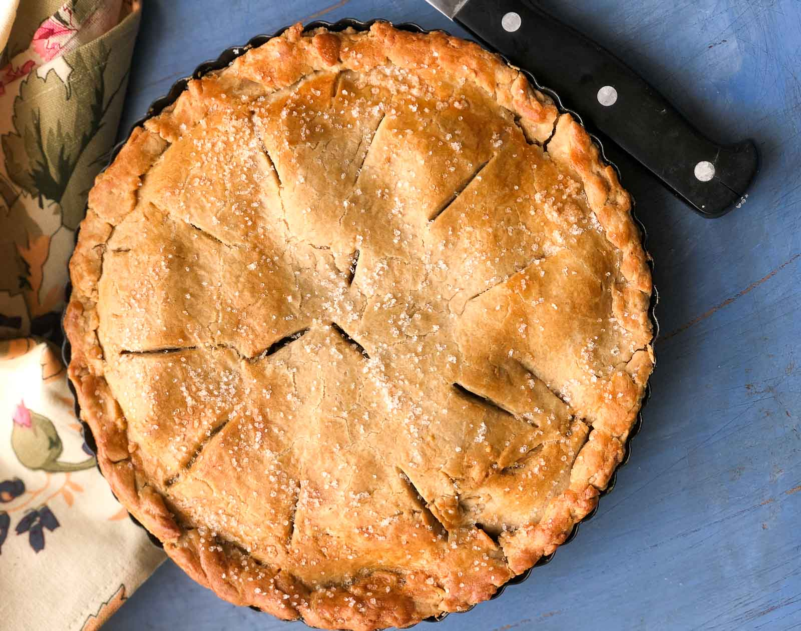 Homemade Apple Pie Recipe With Whole Wheat Pie Crust