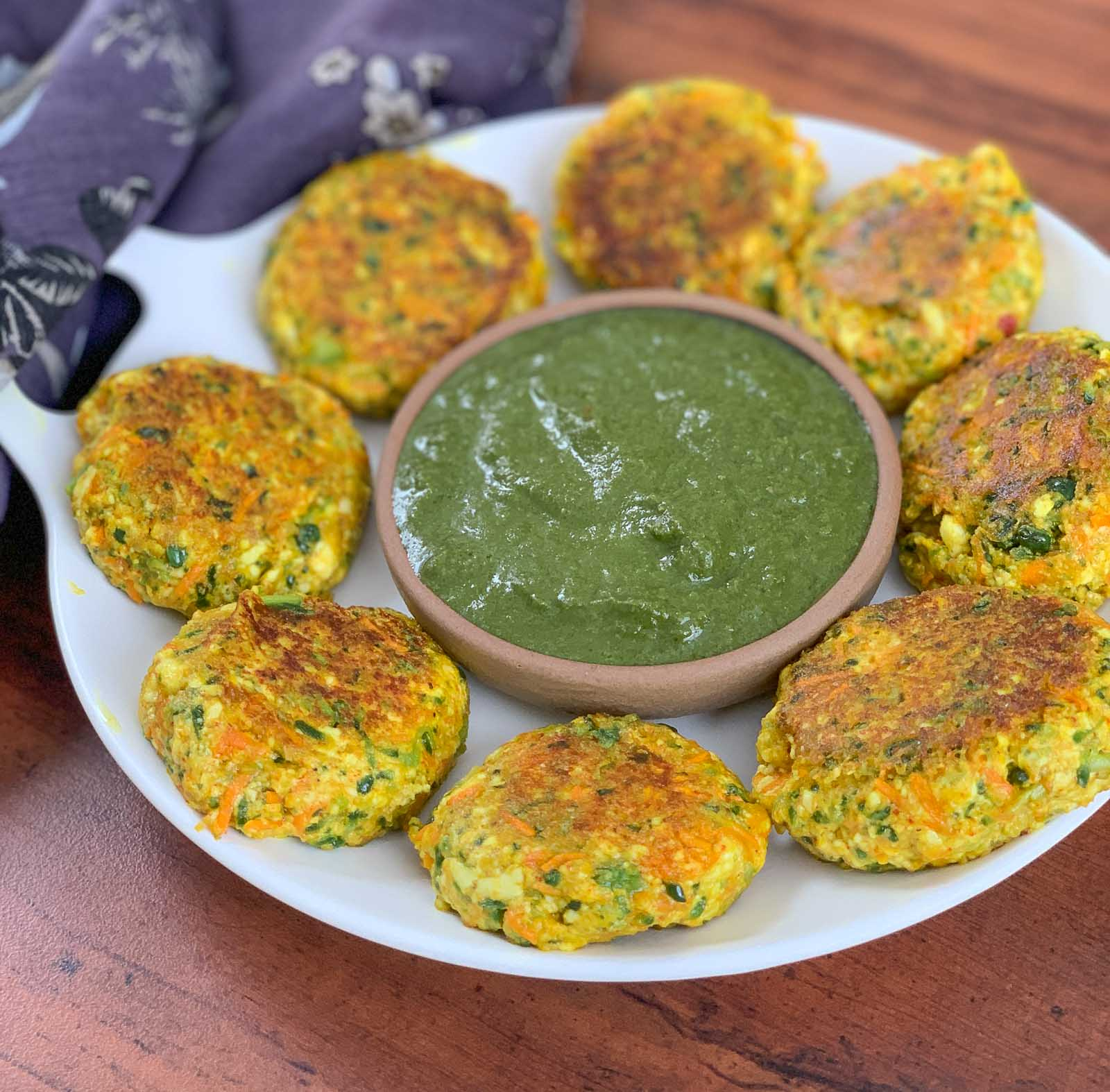 Karela Tikki Recipe - Healthy Diabetic Snack