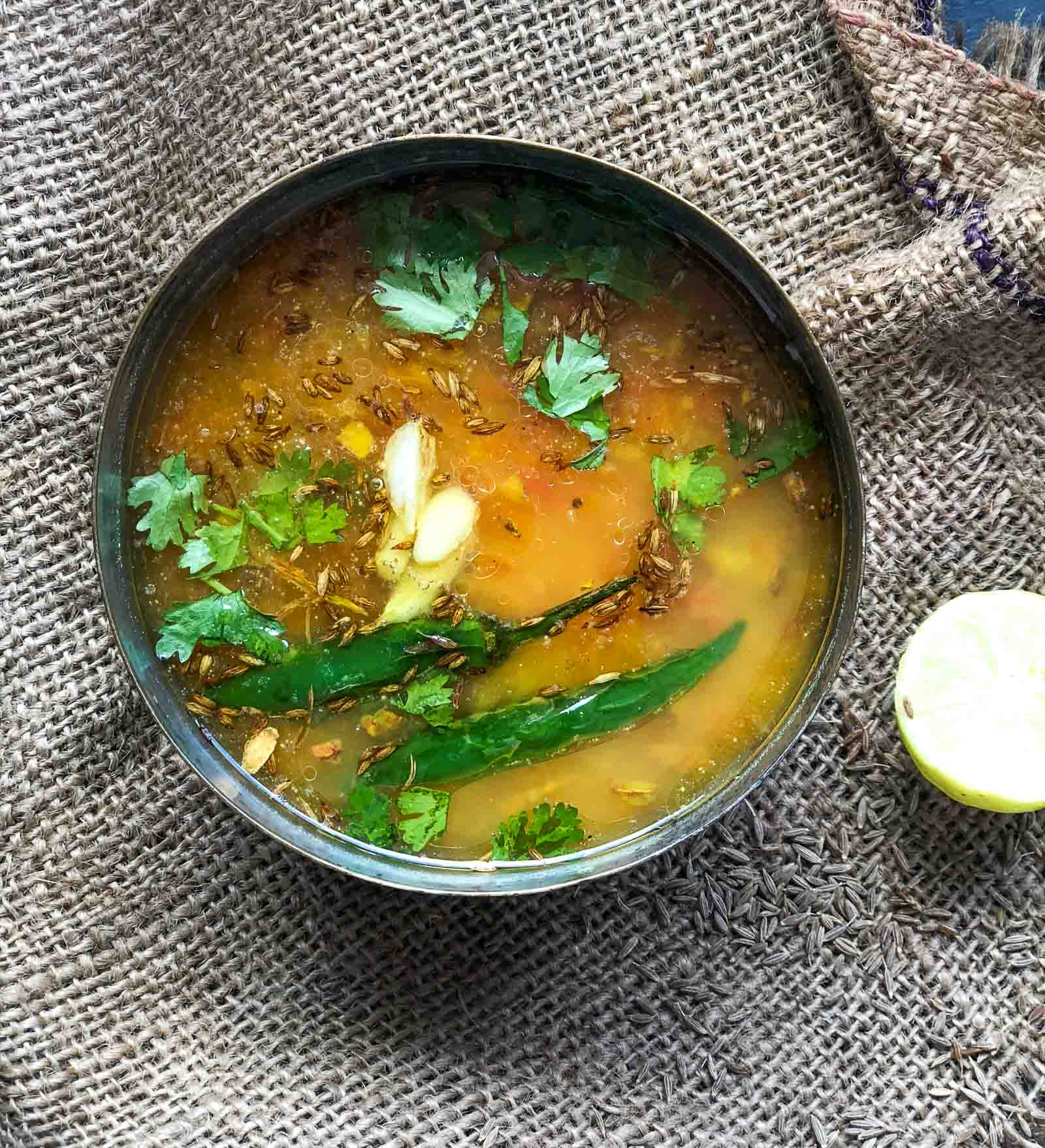 Lehsuni Moong Dal Tadka Recipe