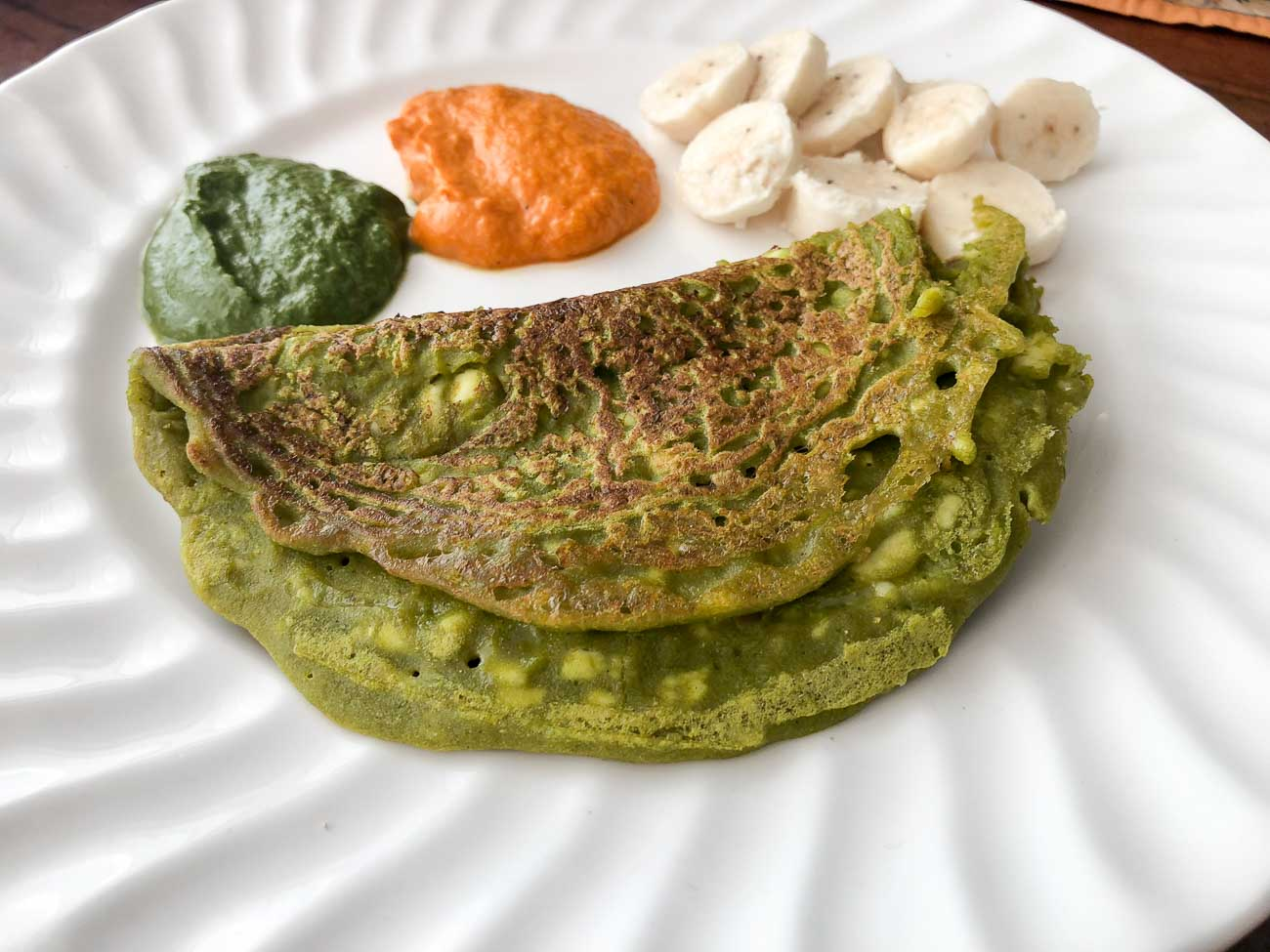 Matar Besan And Paneer Cheela Recipe -Green Peas & Paneer Crepes