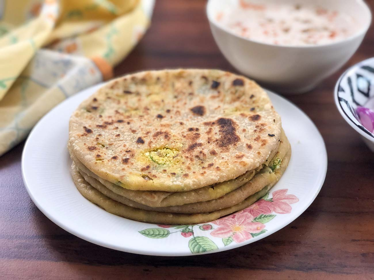 Preethi Kitchen Appliances Gobi Paratha Recipe video 1