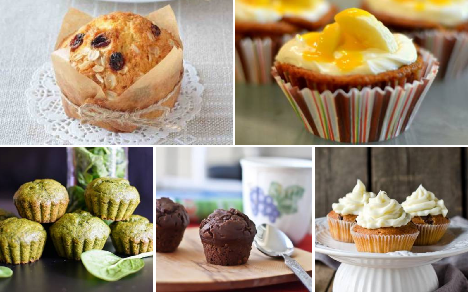 43 Delicious Cupcake And Muffin Recipes For Breakfast Or Snack