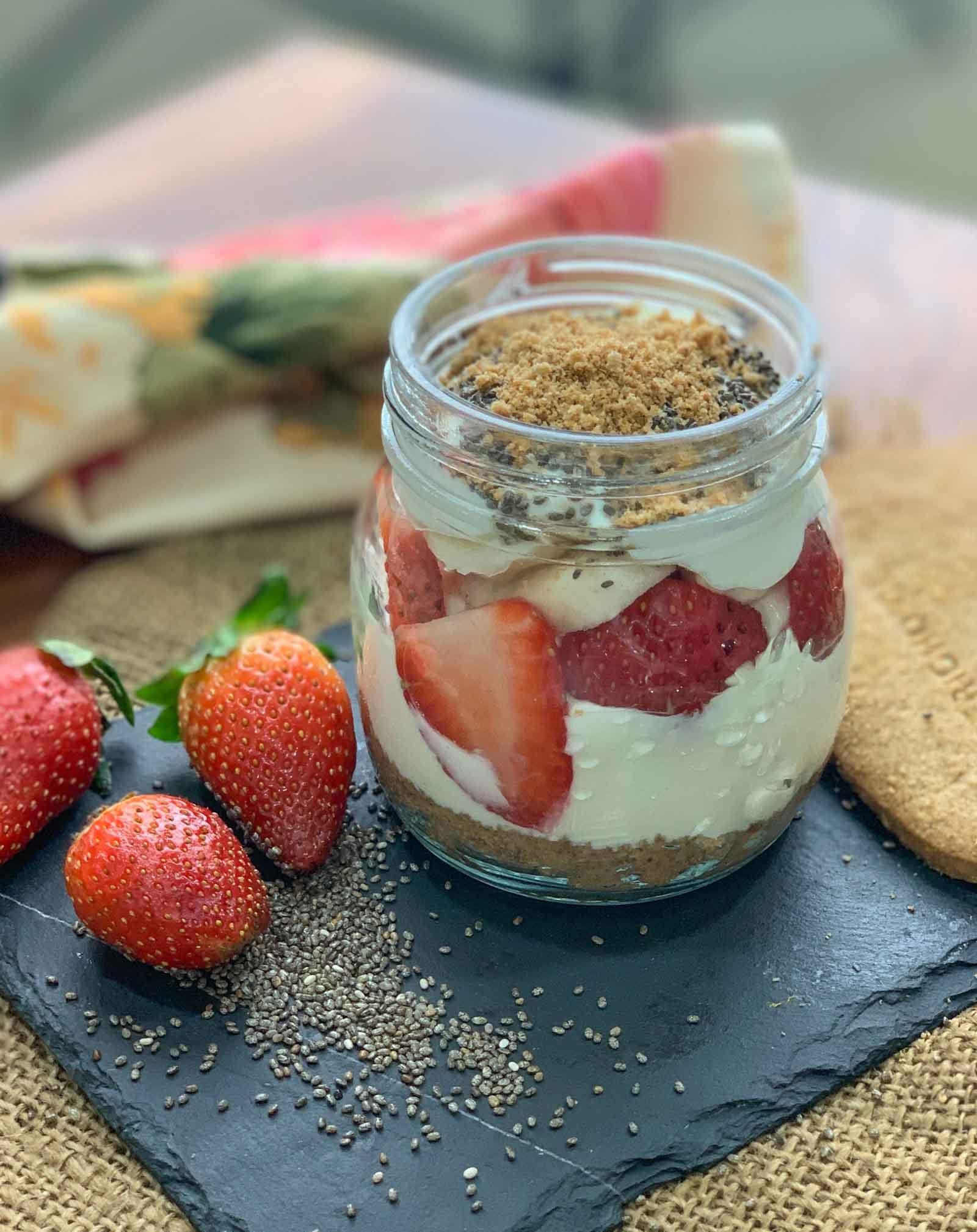 5 Grain Greek Yogurt Fruit Parfait Recipe By Archana S Kitchen