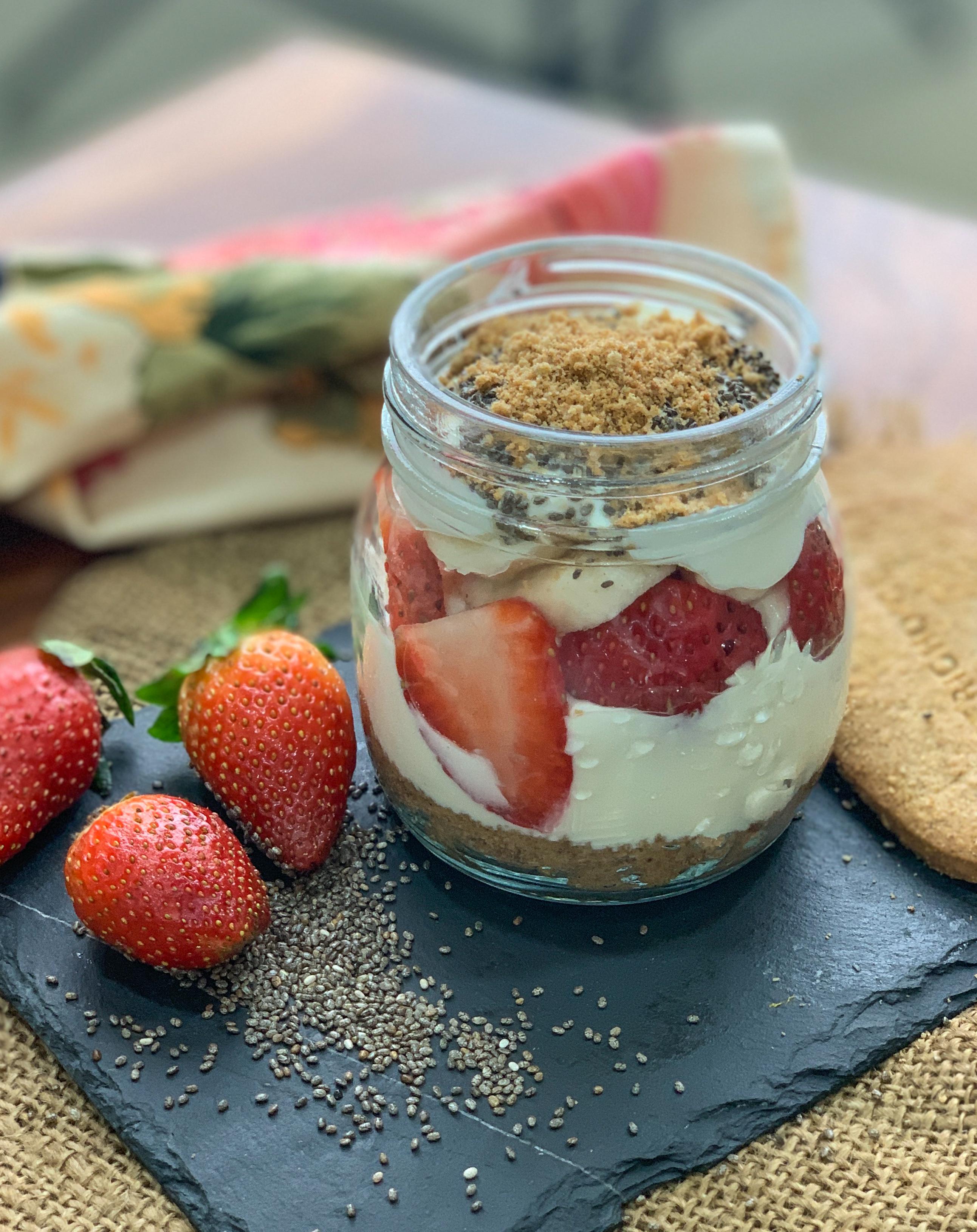 5 Grain Greek Yogurt Fruit Parfait Recipe