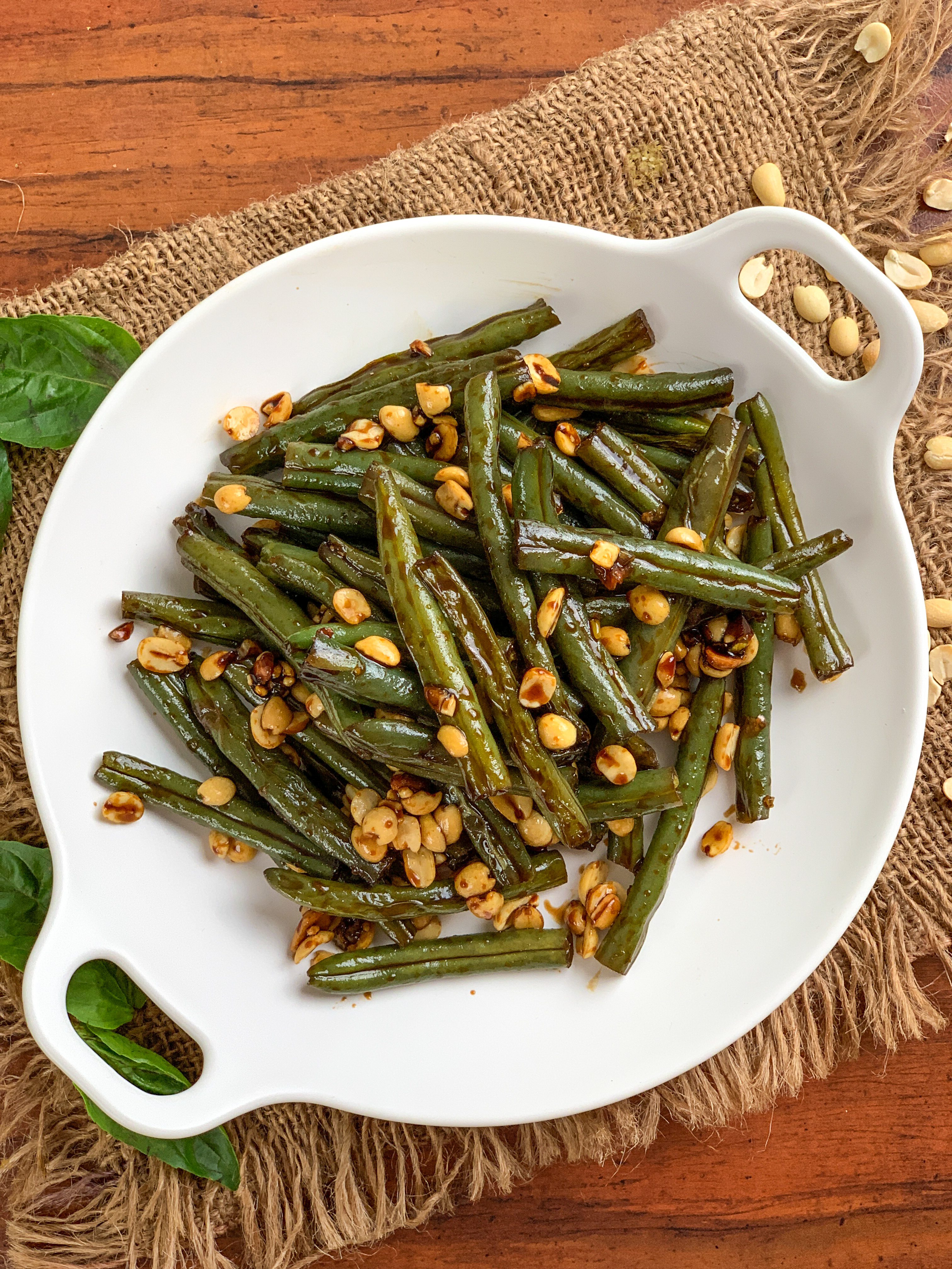 Asian Style Sweet & Spicy Green Beans Recipe