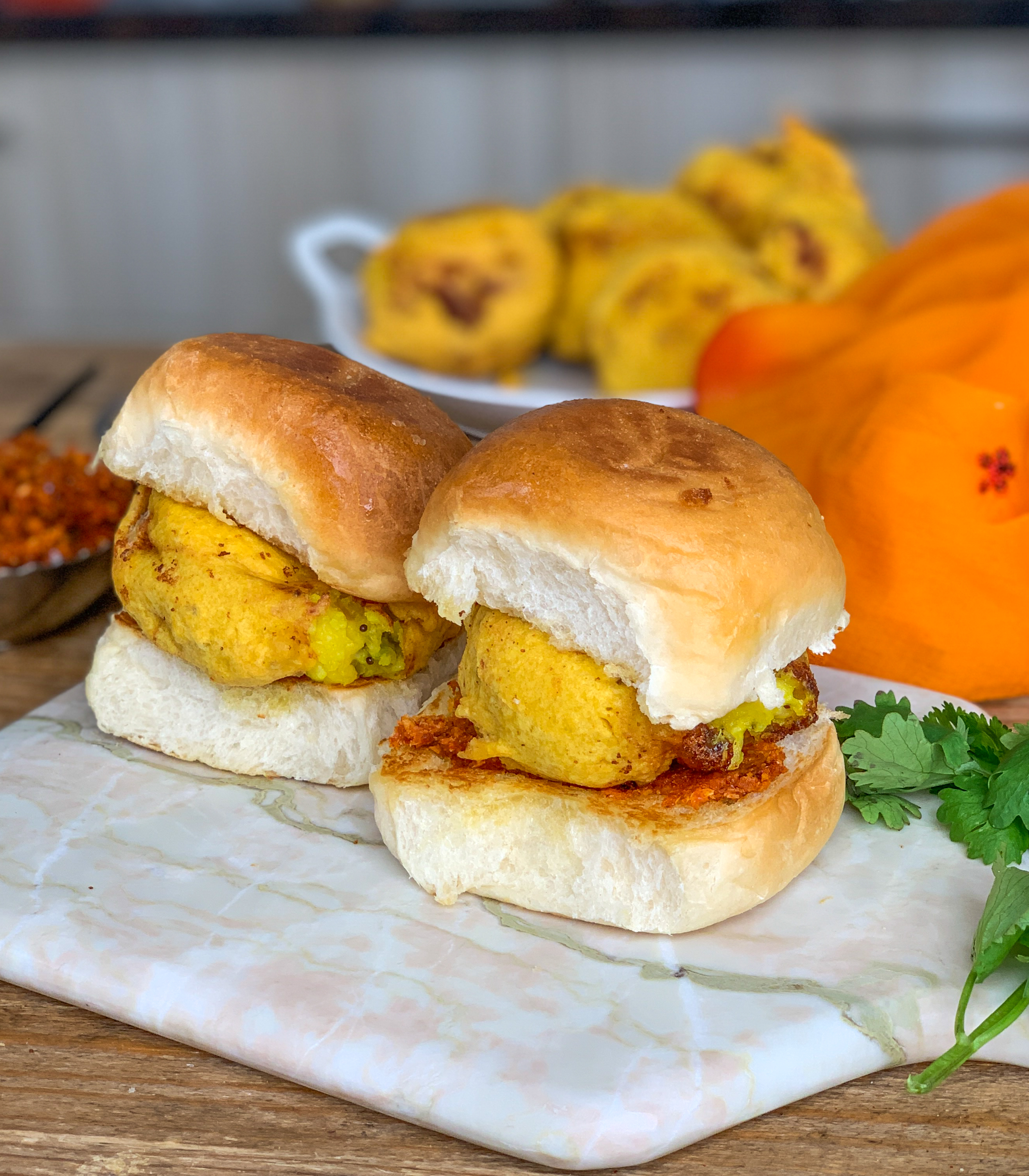 Homemade Vada Pav Recipe With Cheesy Aloo Vada
